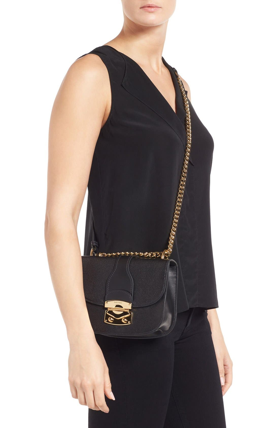Alternate Image 2  - Miu Miu Madras Leather Crossbody Bag