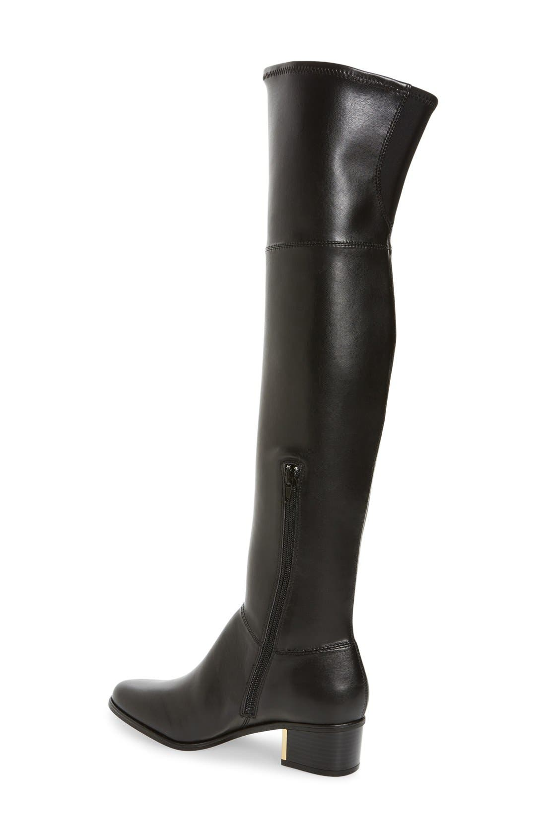 Calvin Klein Women's Carli Water Resistant Over The Knee Boot 2Is1m