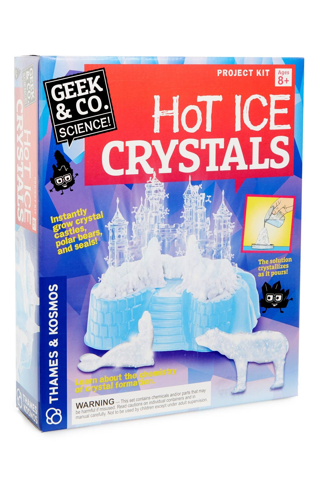 Thames & Kosmos Hot Ice Crystals Science Kit