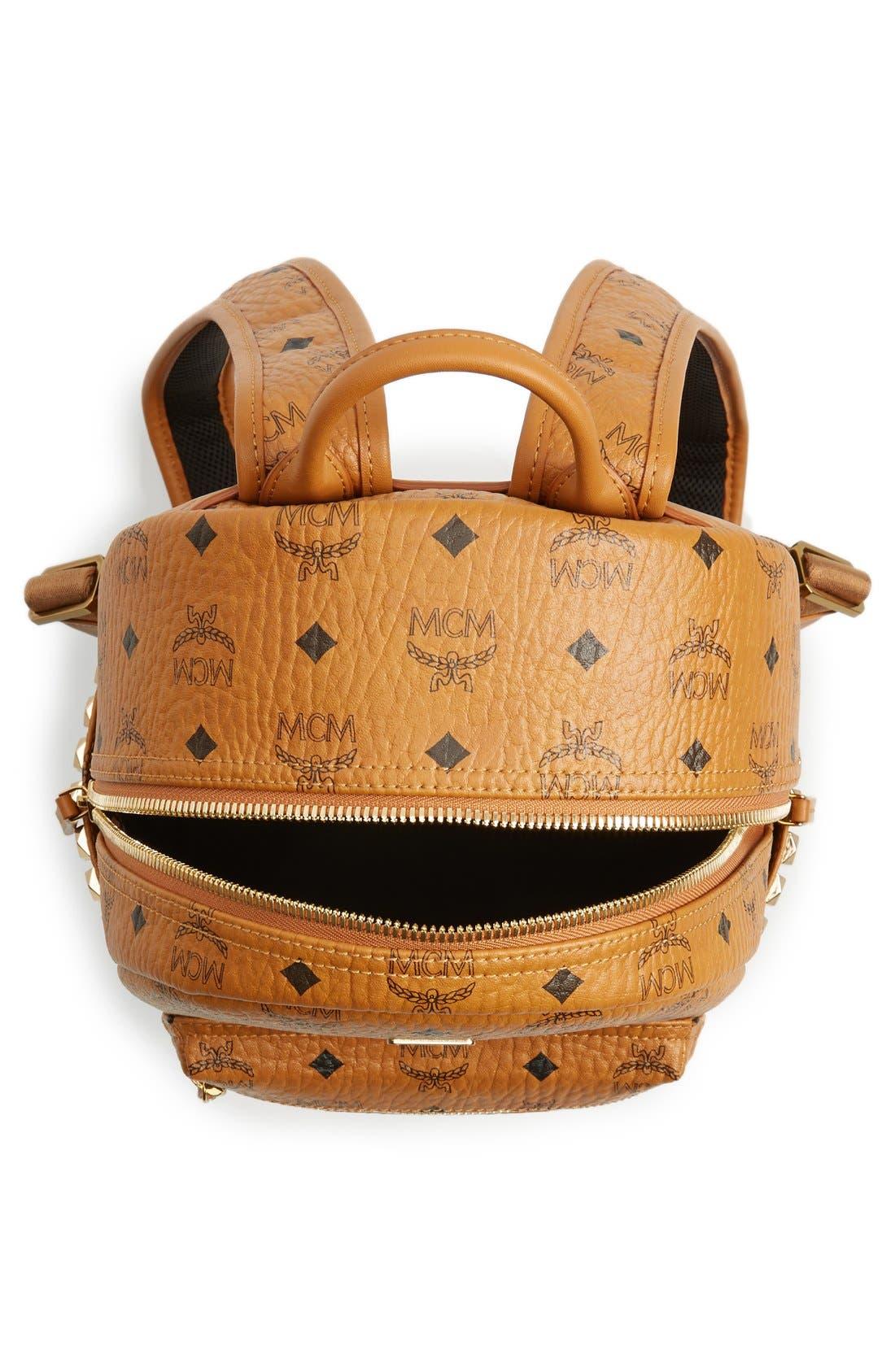 Alternate Image 4  - MCM 'Small Stark' Side Stud Backpack