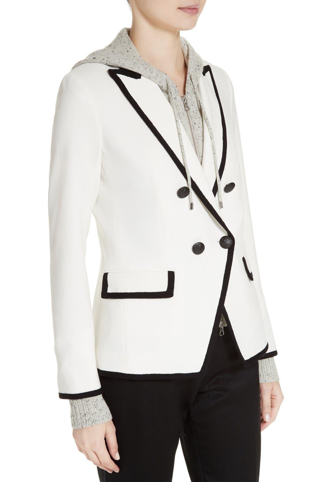 Alternate Image 4  - Veronica Beard Harriet Contrast Cutaway Blazer