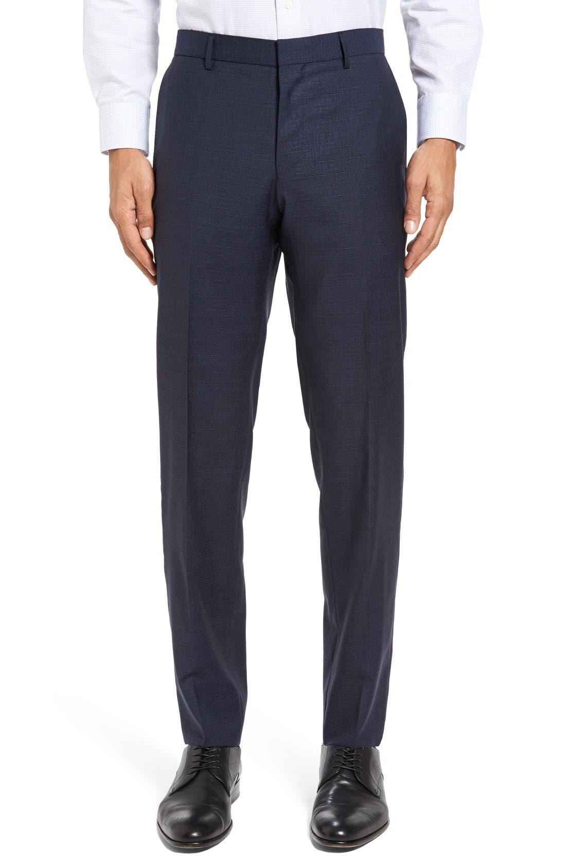 Alternate Image 6  - BOSS Nova/Ben Trim Fit Solid Wool Suit