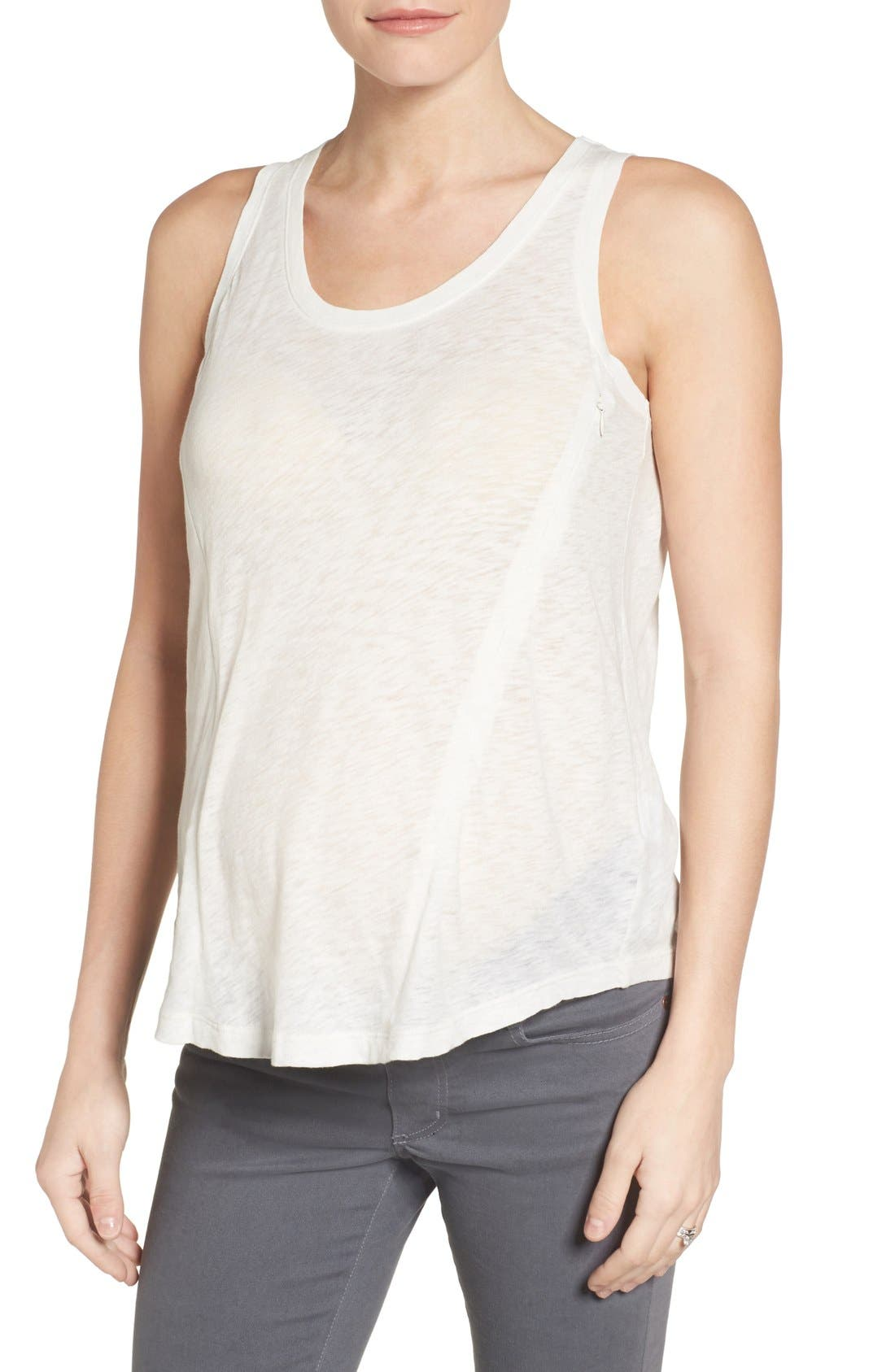 Loyal Hana Paige Maternity/Nursing Tank Top