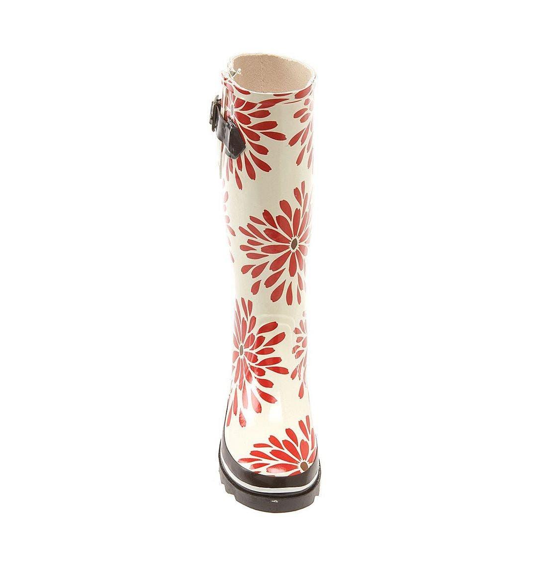 Alternate Image 3  - kate spade 'riley' red daisy rain boot