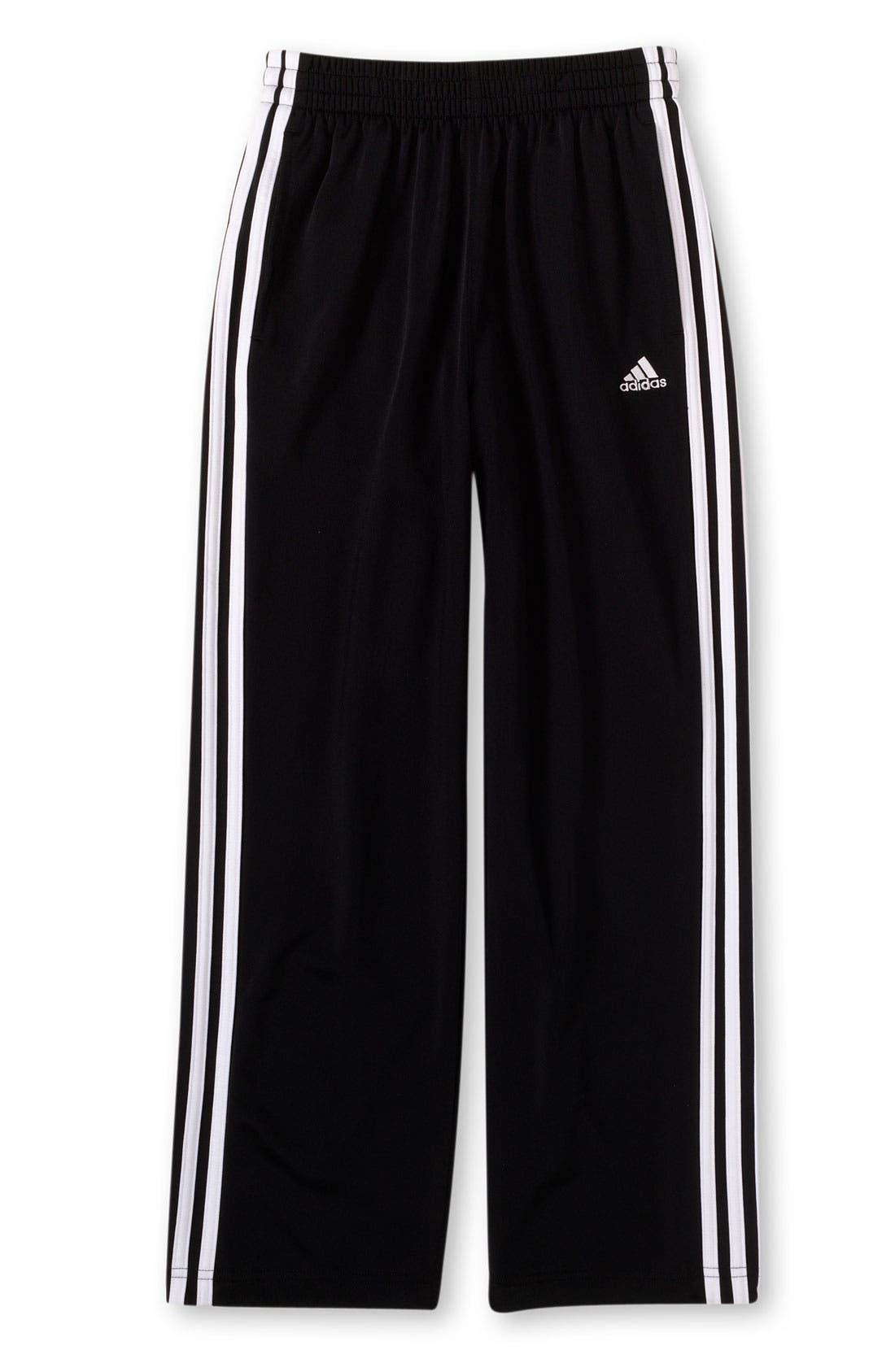 Alternate Image 1 Selected - adidas 3-Stripes Pants (Big Boys)