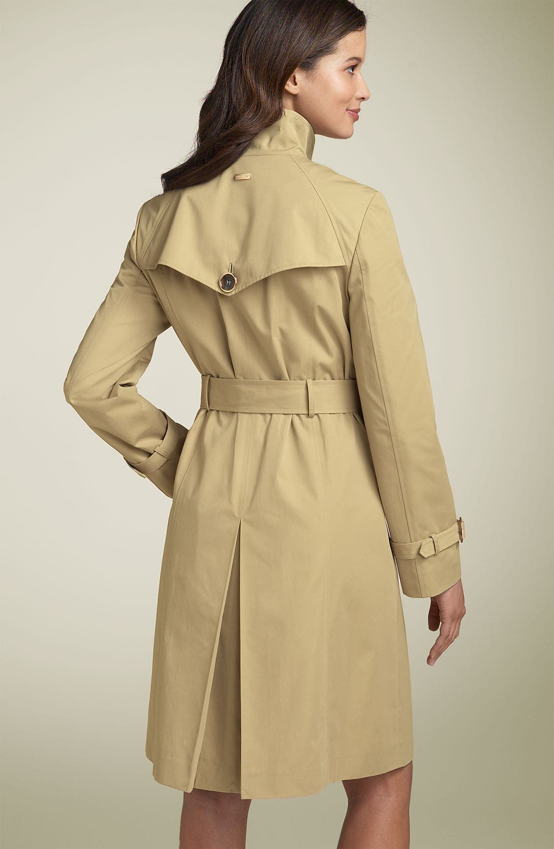 Alternate Image 3  - Ellen Tracy Wing Collar Trench Coat