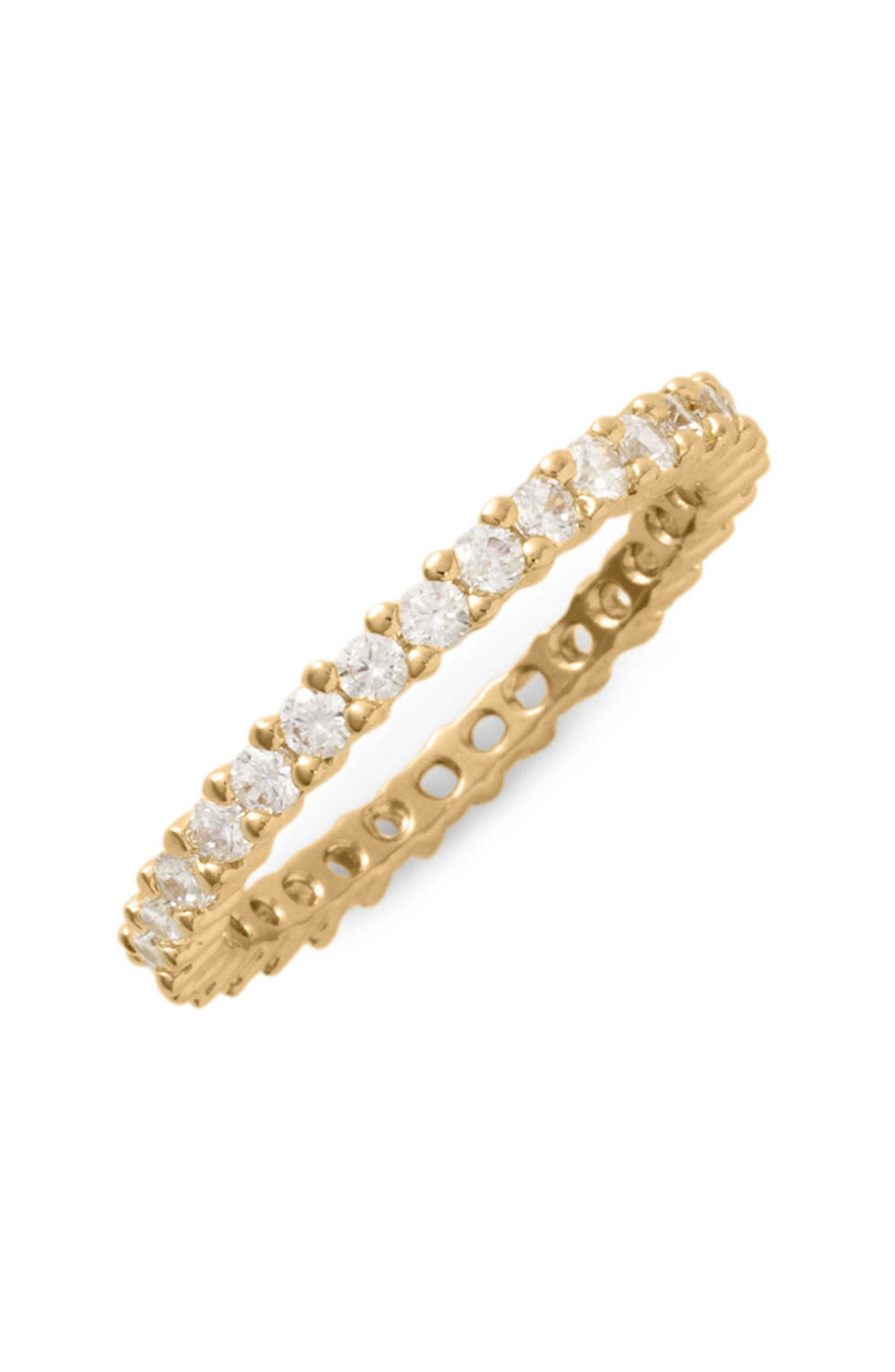 Main Image - Ariella Collection Cubic Zirconia Eternity Band