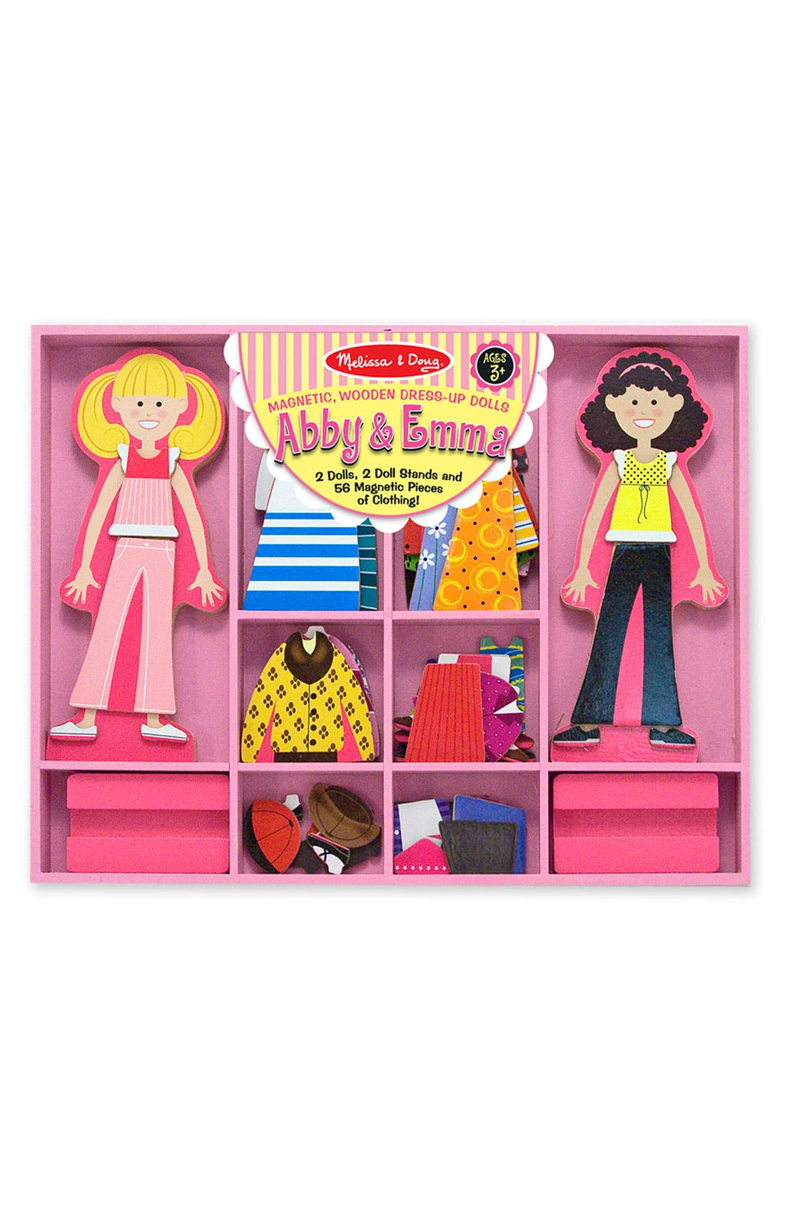 Magnetic Dress-Up Set,                         Main,                         color, Multi