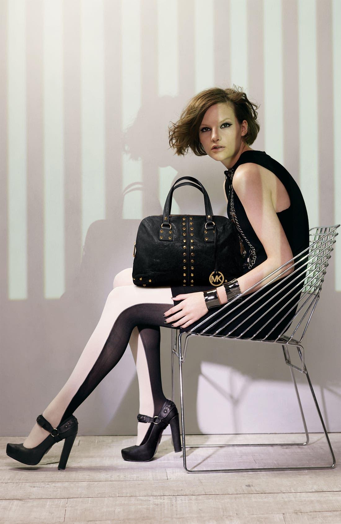Alternate Image 2  - DKNY Color Block Tights