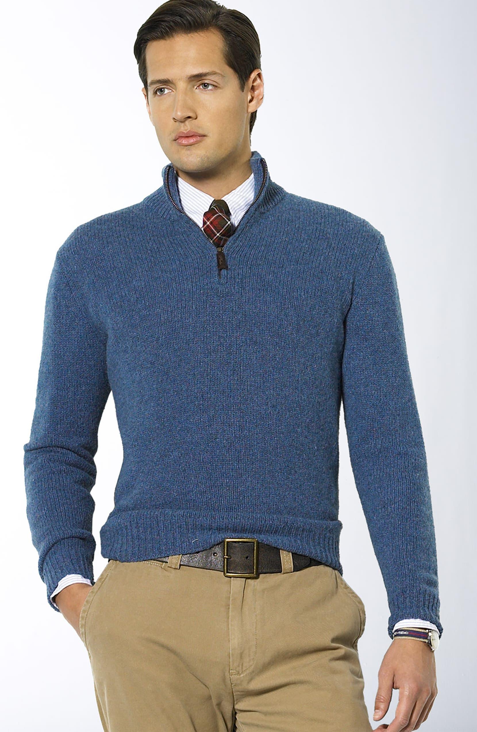 Polo Ralph Lauren Half Zip Sweater   Nordstrom