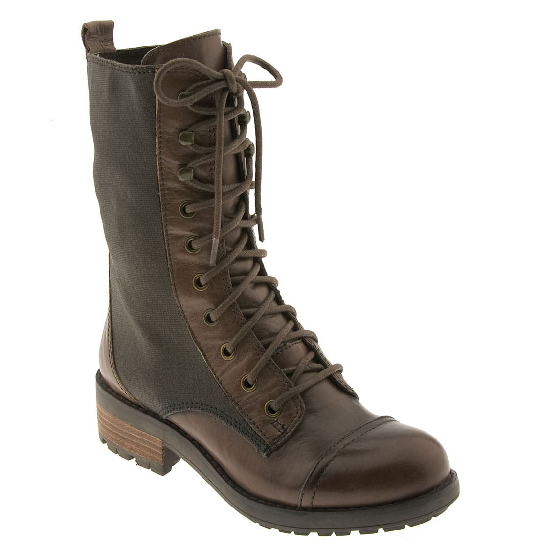 'Corley' Boot,                             Main thumbnail 1, color,                             Dark Brown Leather