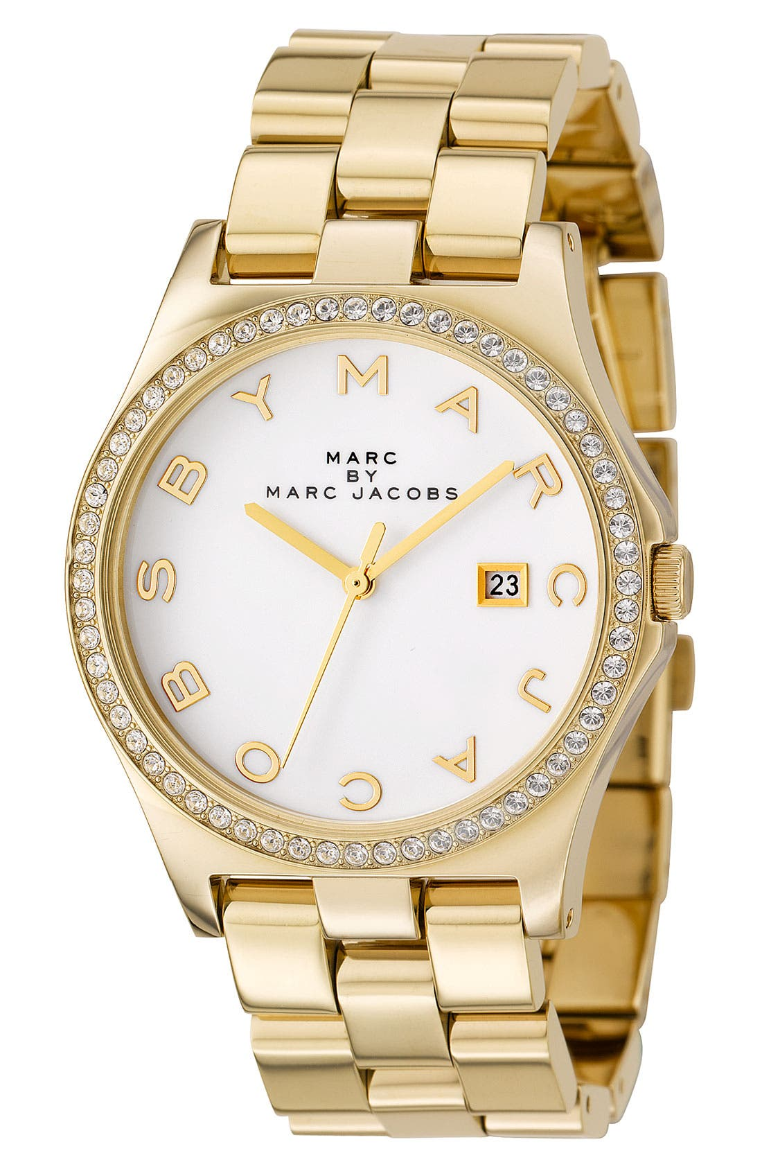 Alternate Image 3  - MARC JACOBS 'Henry' Stainless Steel Watch