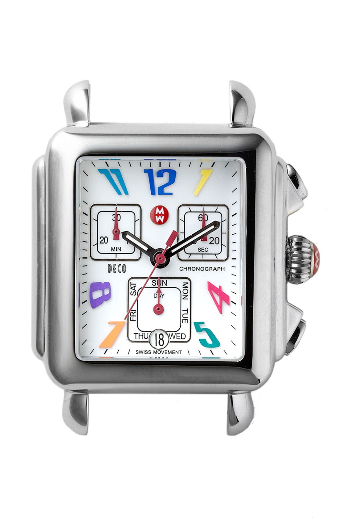 Main Image - MICHELE 'Deco Carousel' Watch Case