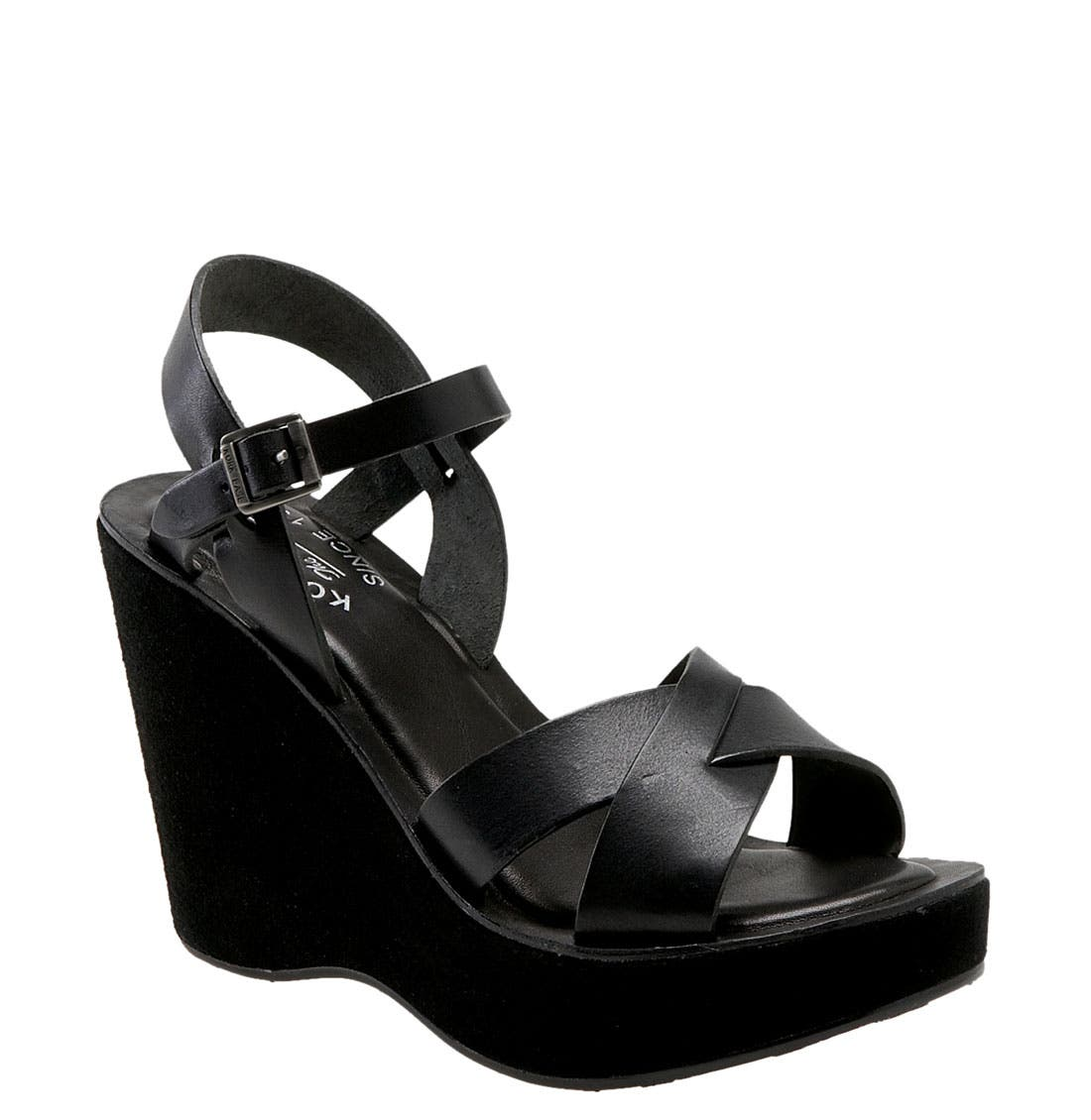 Main Image - Kork-Ease 'Bette' Wedge Sandal