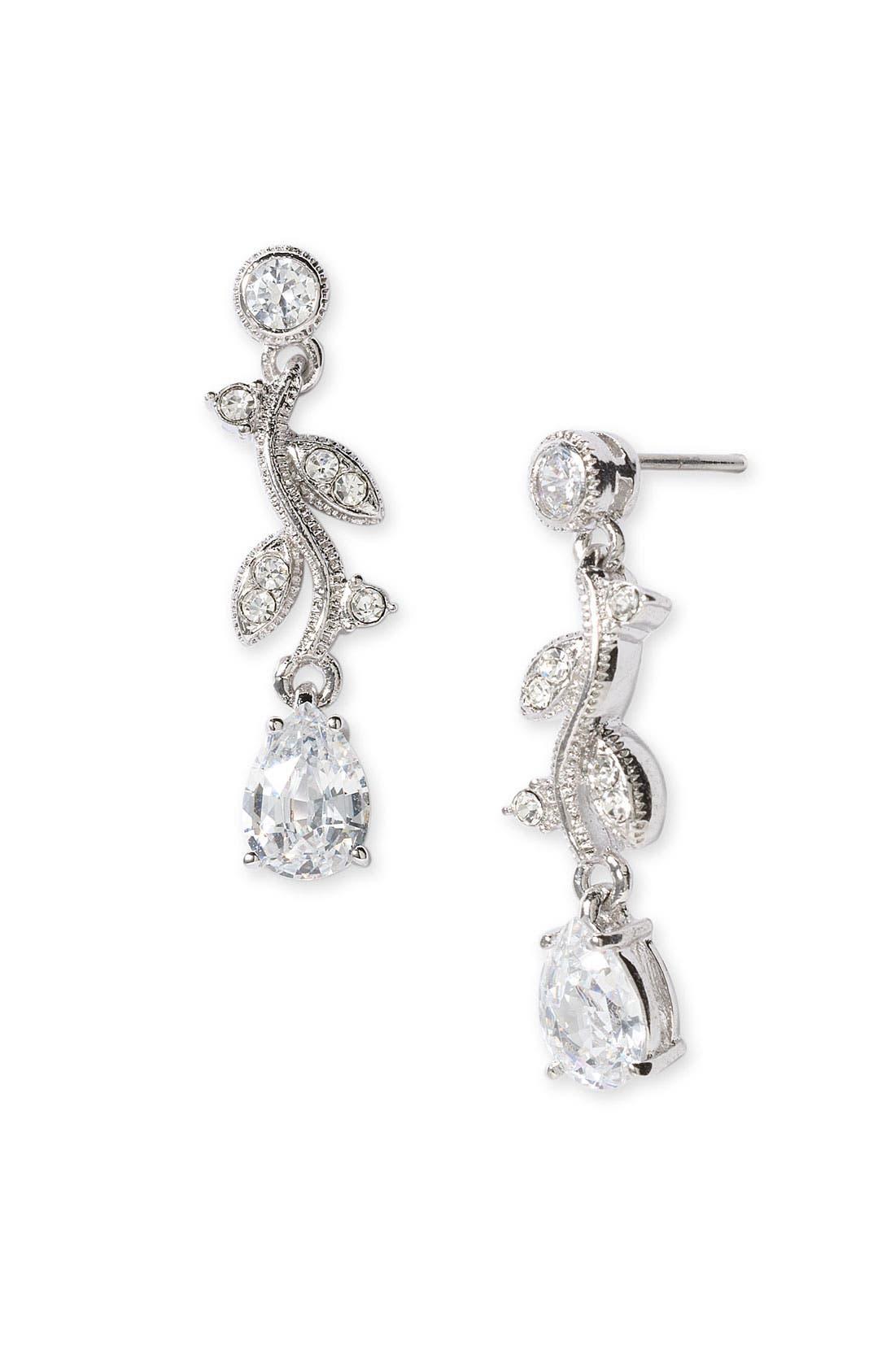 Alternate Image 1 Selected - Nadri 'Nouveau Vine' Earrings