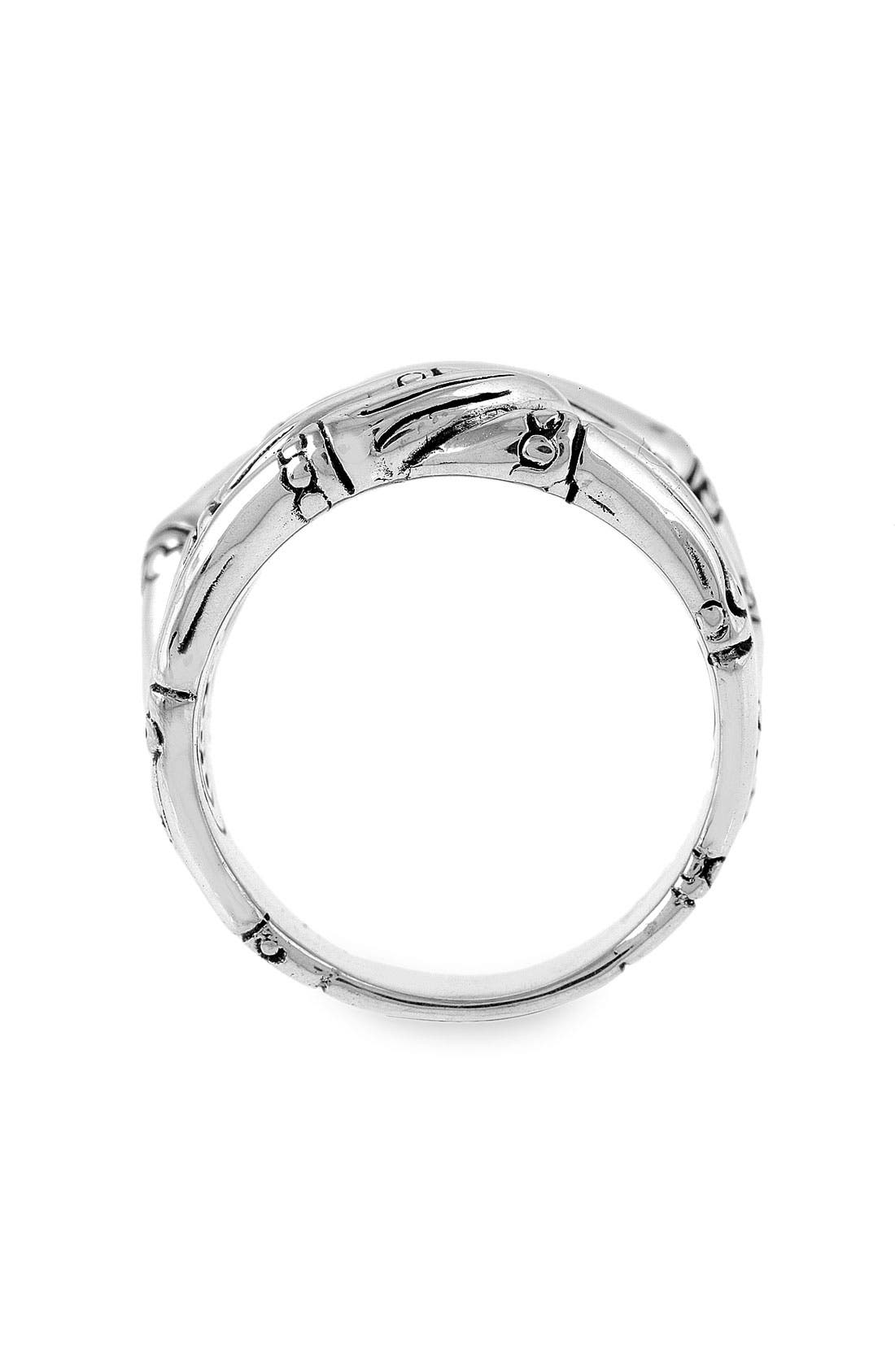Alternate Image 2  - John Hardy 'Bamboo' Woven Silver Ring