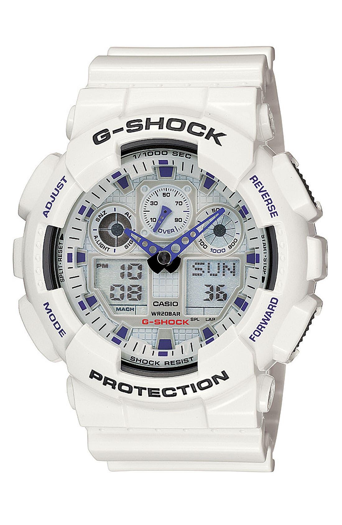 Main Image - G-Shock 'Big Combi' Watch, 55mm x 51mm