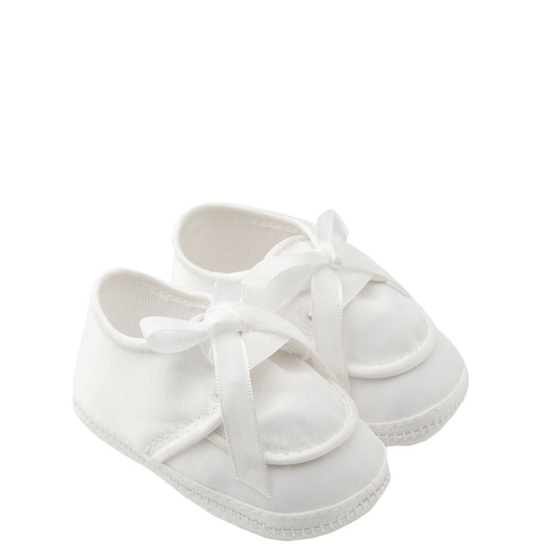 Main Image - Designer's Touch 'Michael' Crib Shoe (Baby)