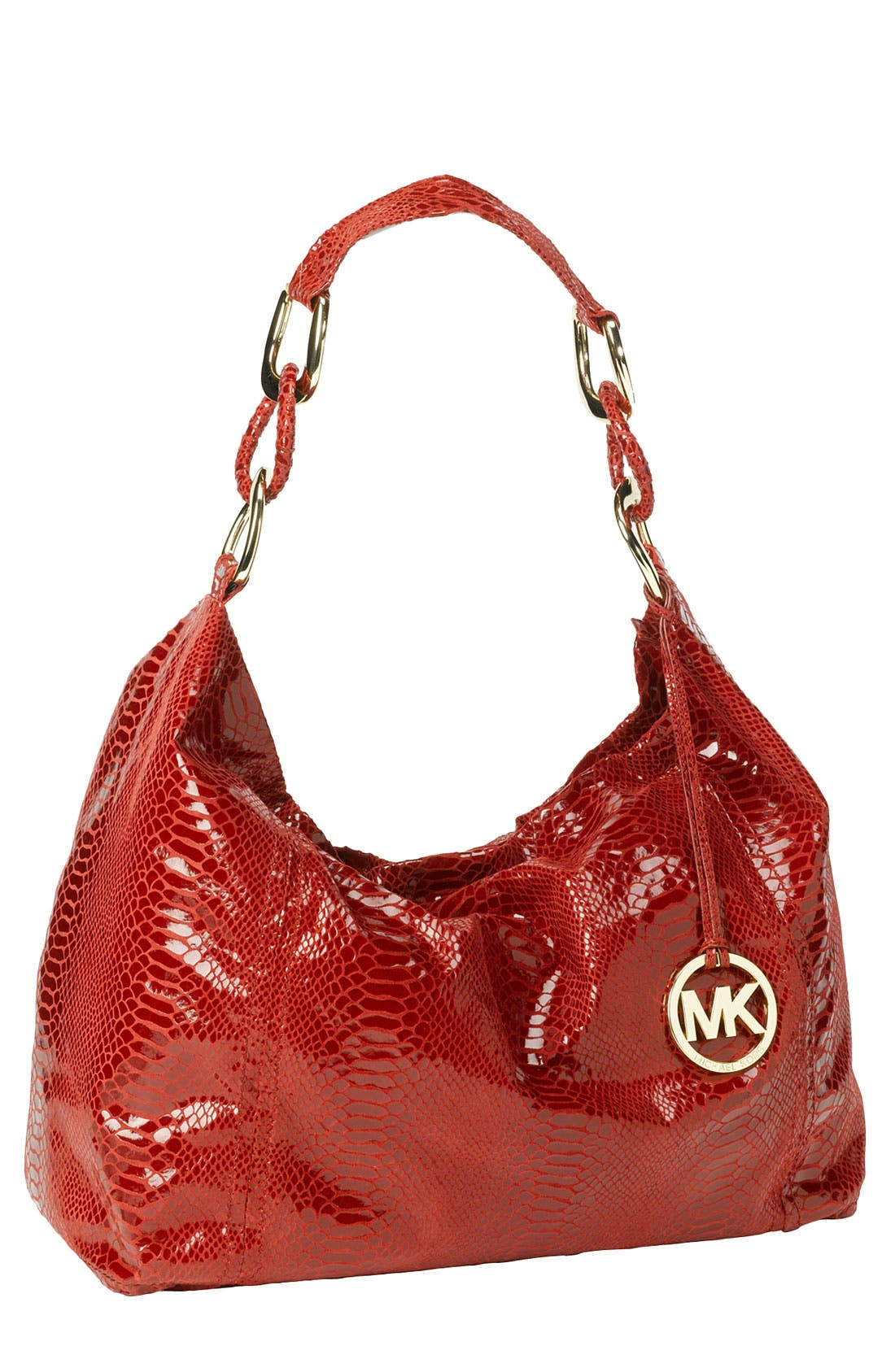 Alternate Image 1 Selected - MICHAEL Michael Kors 'Oversized ID Chain' Shoulder Bag