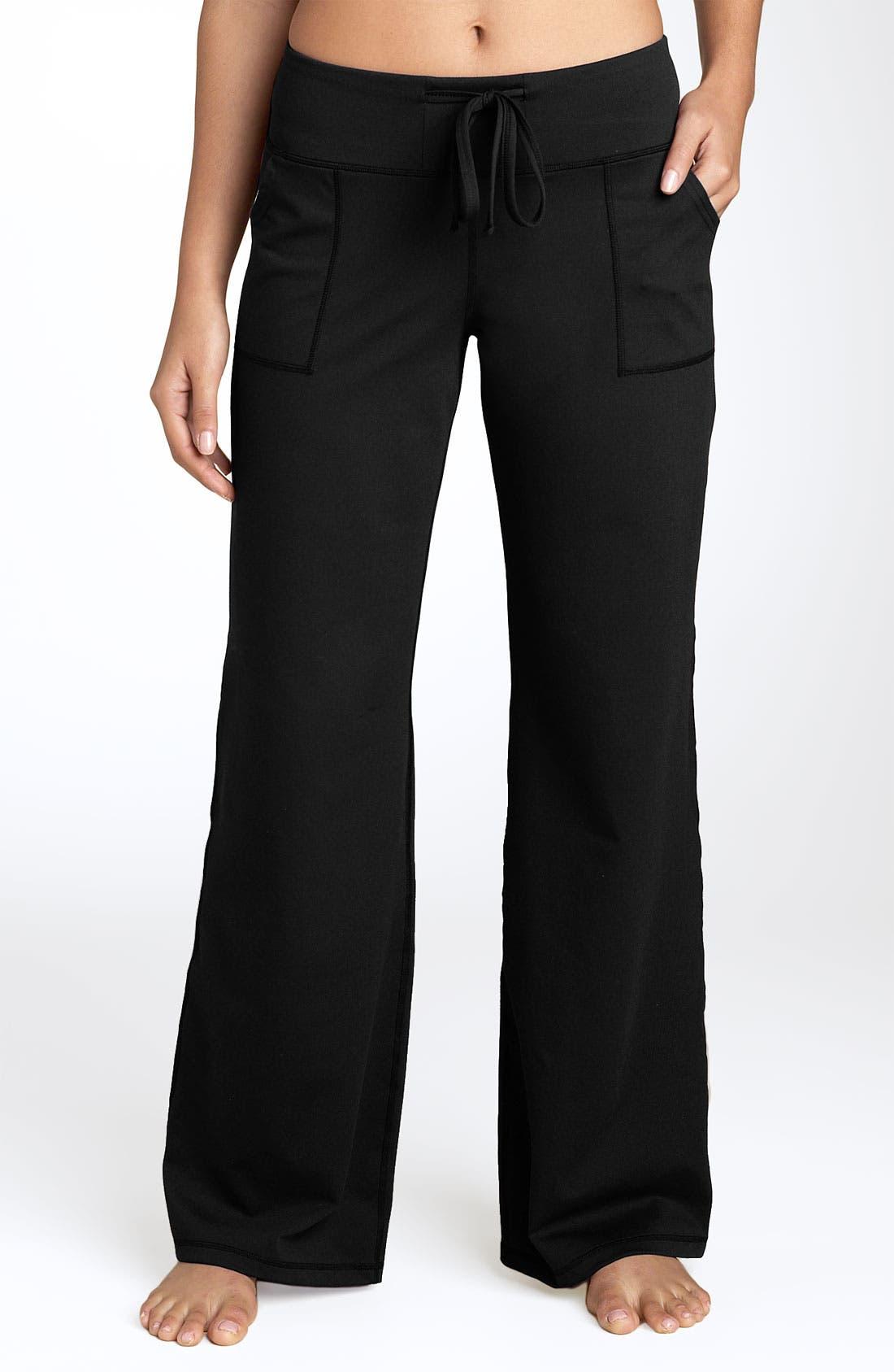 'Soul' Wide Leg Pants,                         Main,                         color, Black