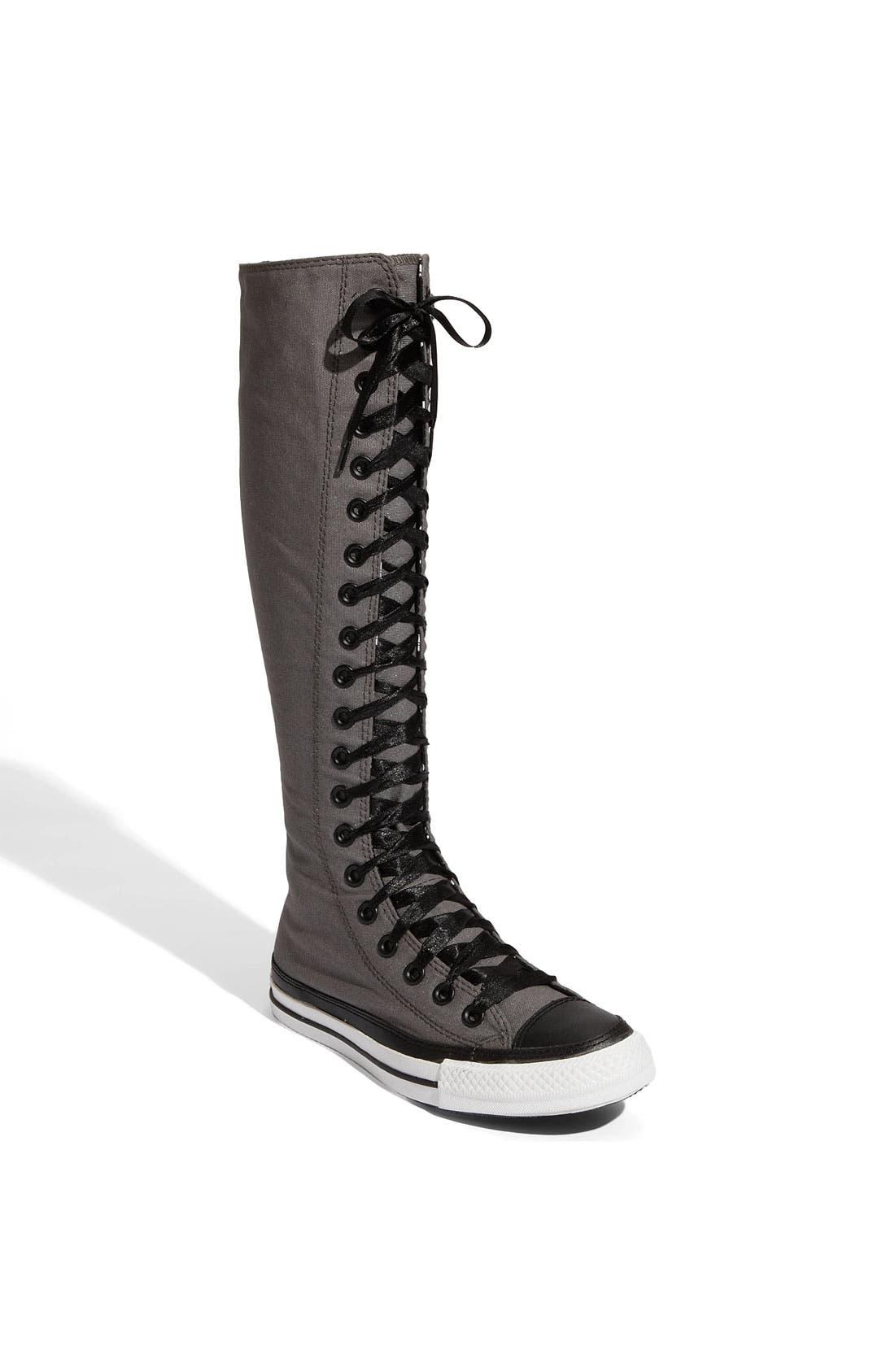 converse knee high boots. main image - converse chuck taylor® \u0027xx hi\u0027 knee high sneaker boots