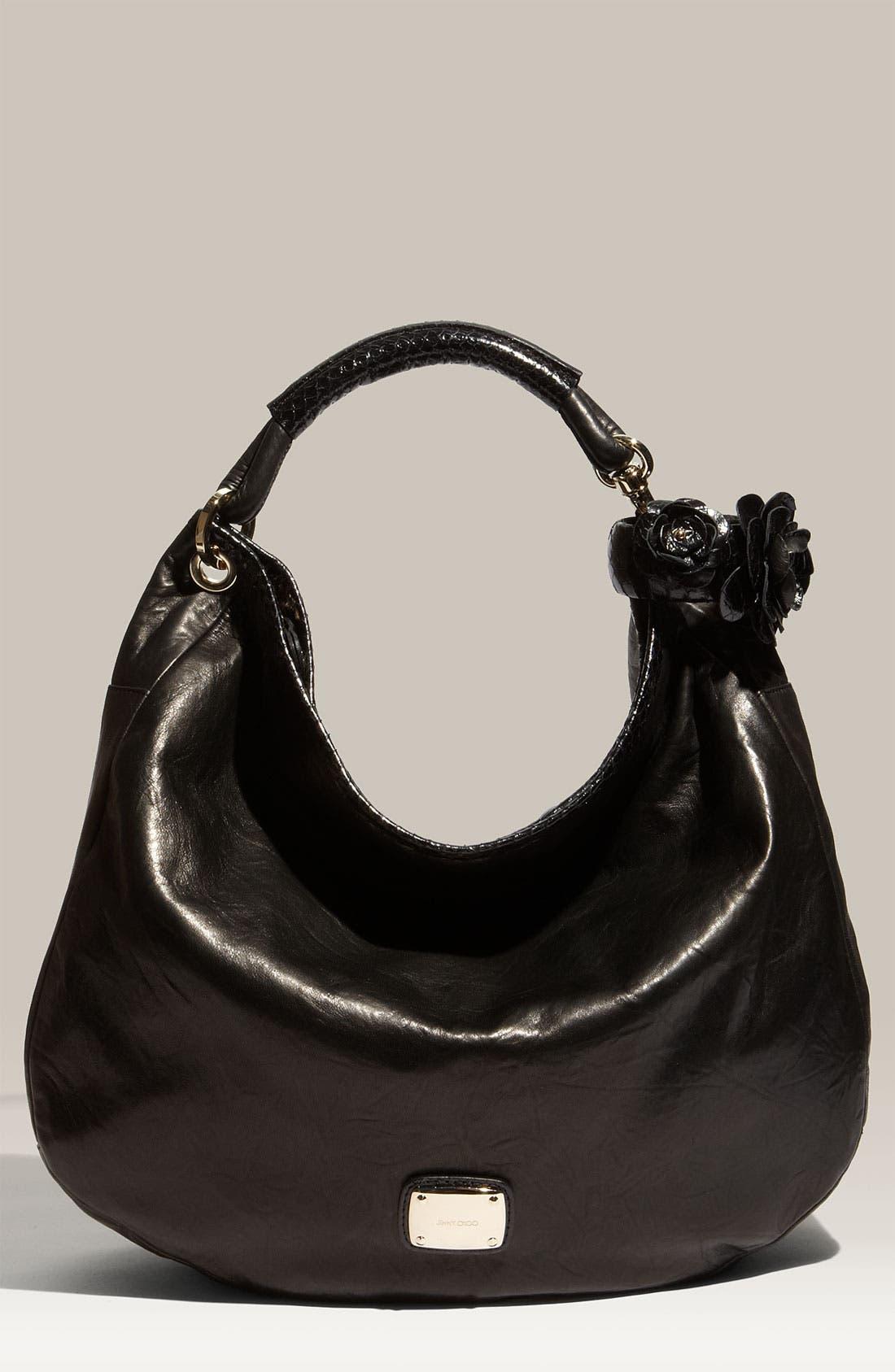 Main Image - Jimmy Choo 'Sky' Leather Hobo