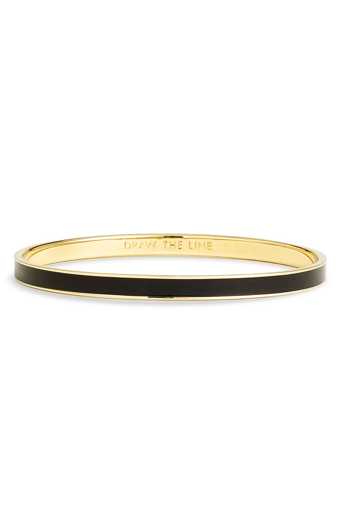Alternate Image 1 Selected - kate spade new york 'idiom - draw the line' ultra thin bangle