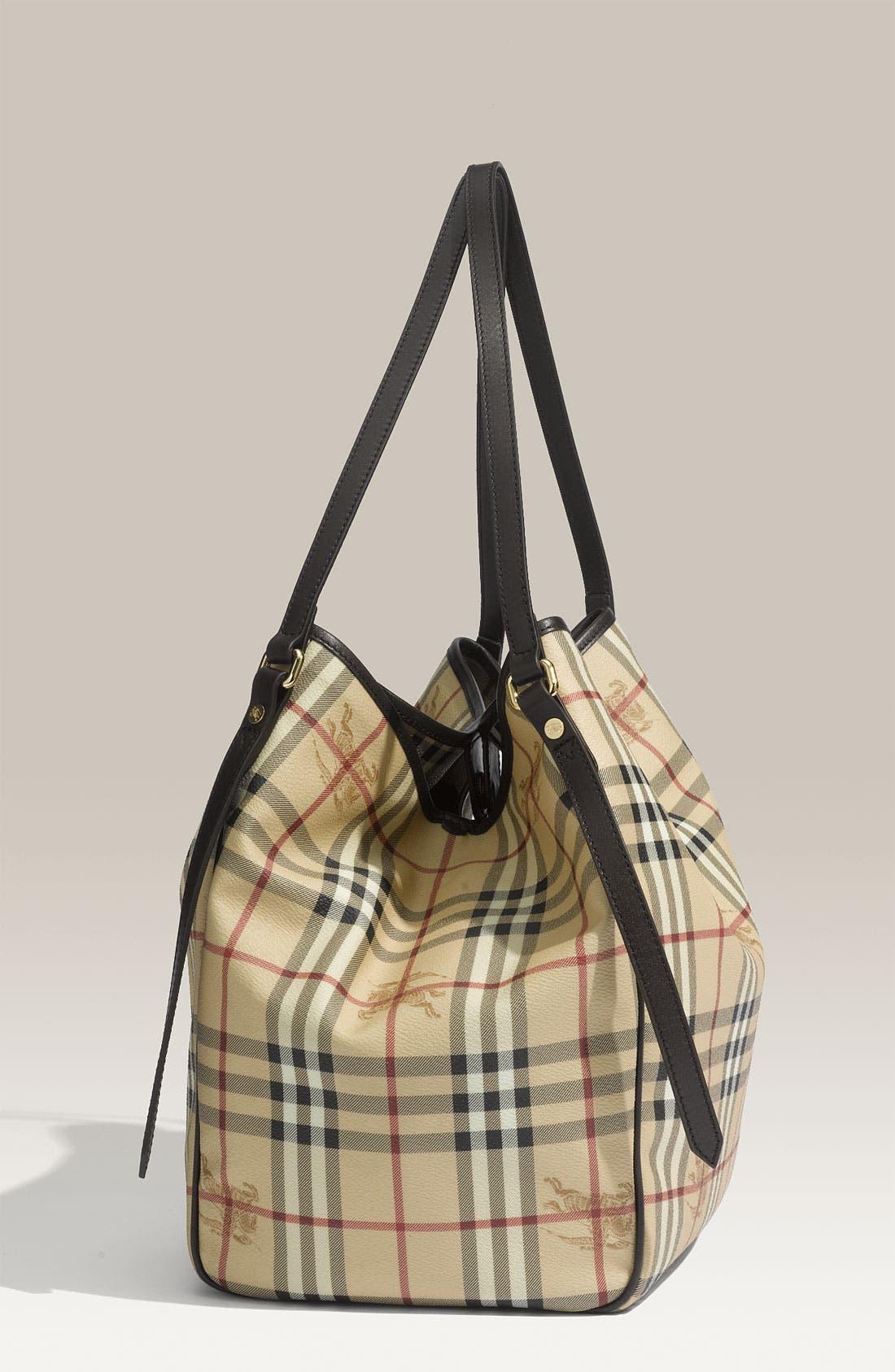 Alternate Image 2  - Burberry 'Medium Haymarket Check' Shoulder Bag