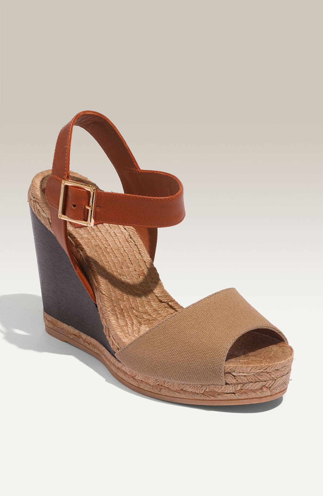 Alternate Image 1 Selected - Tory Burch Wood Wedge Espadrille