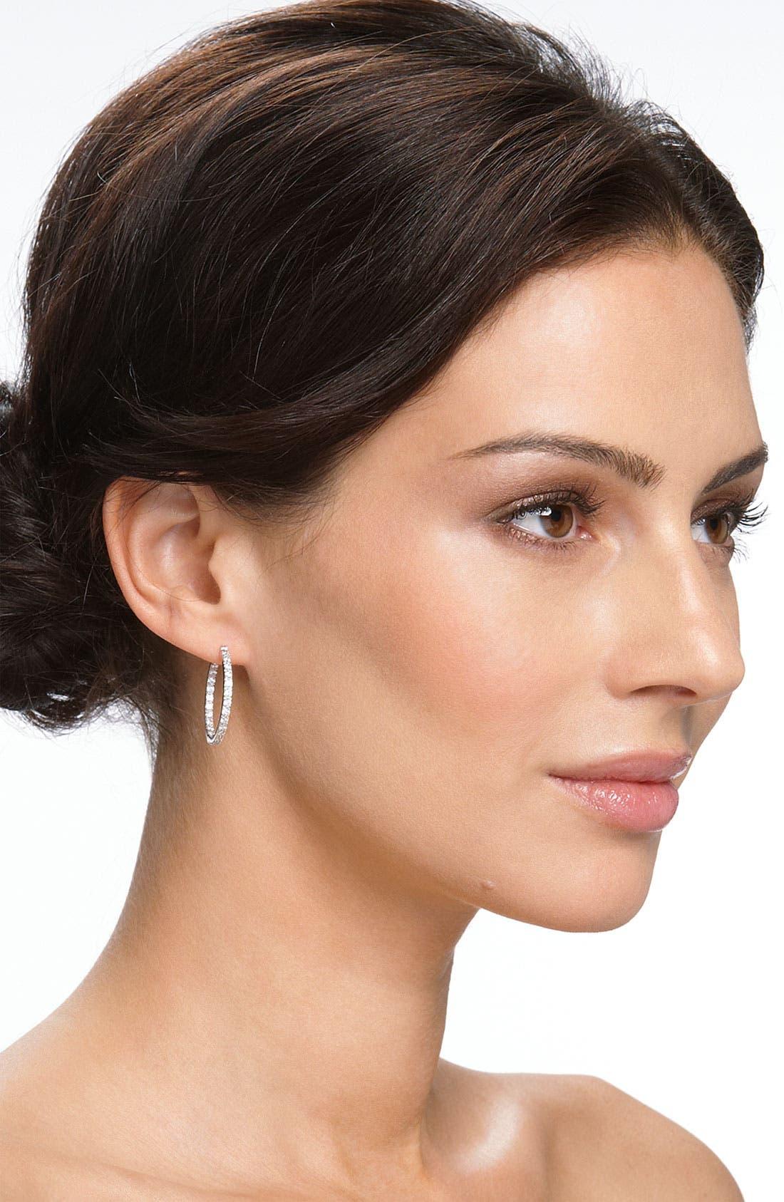 Alternate Image 3  - Nordstrom Hoop Earrings