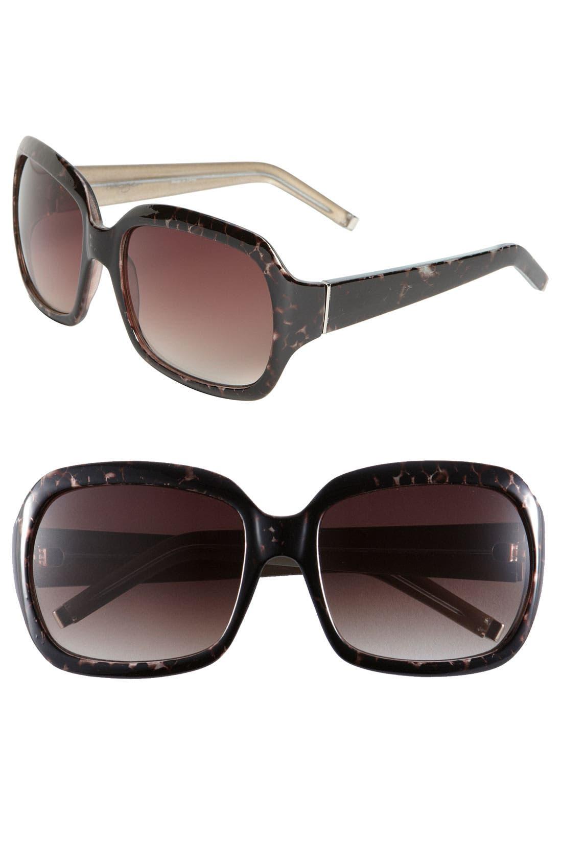 Alternate Image 1 Selected - Halogen® Oversized Square Sunglasses