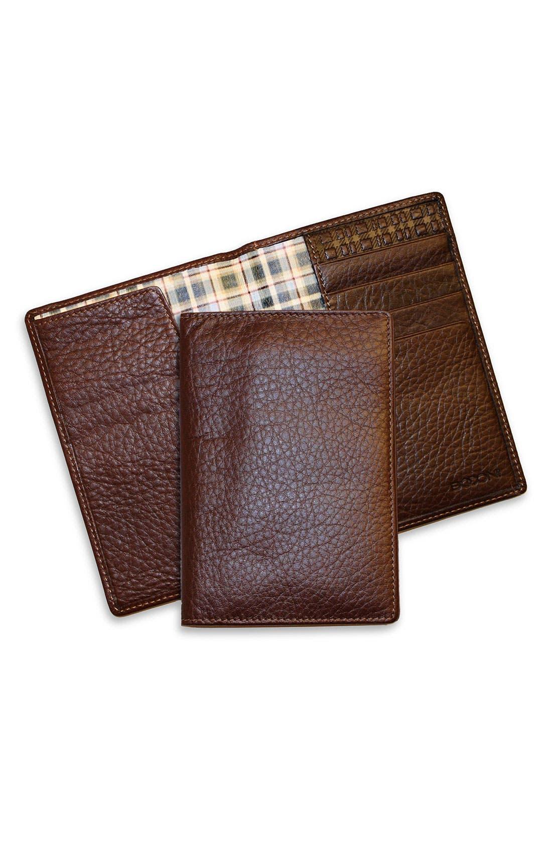 Alternate Image 1 Selected - Boconi Passport Case