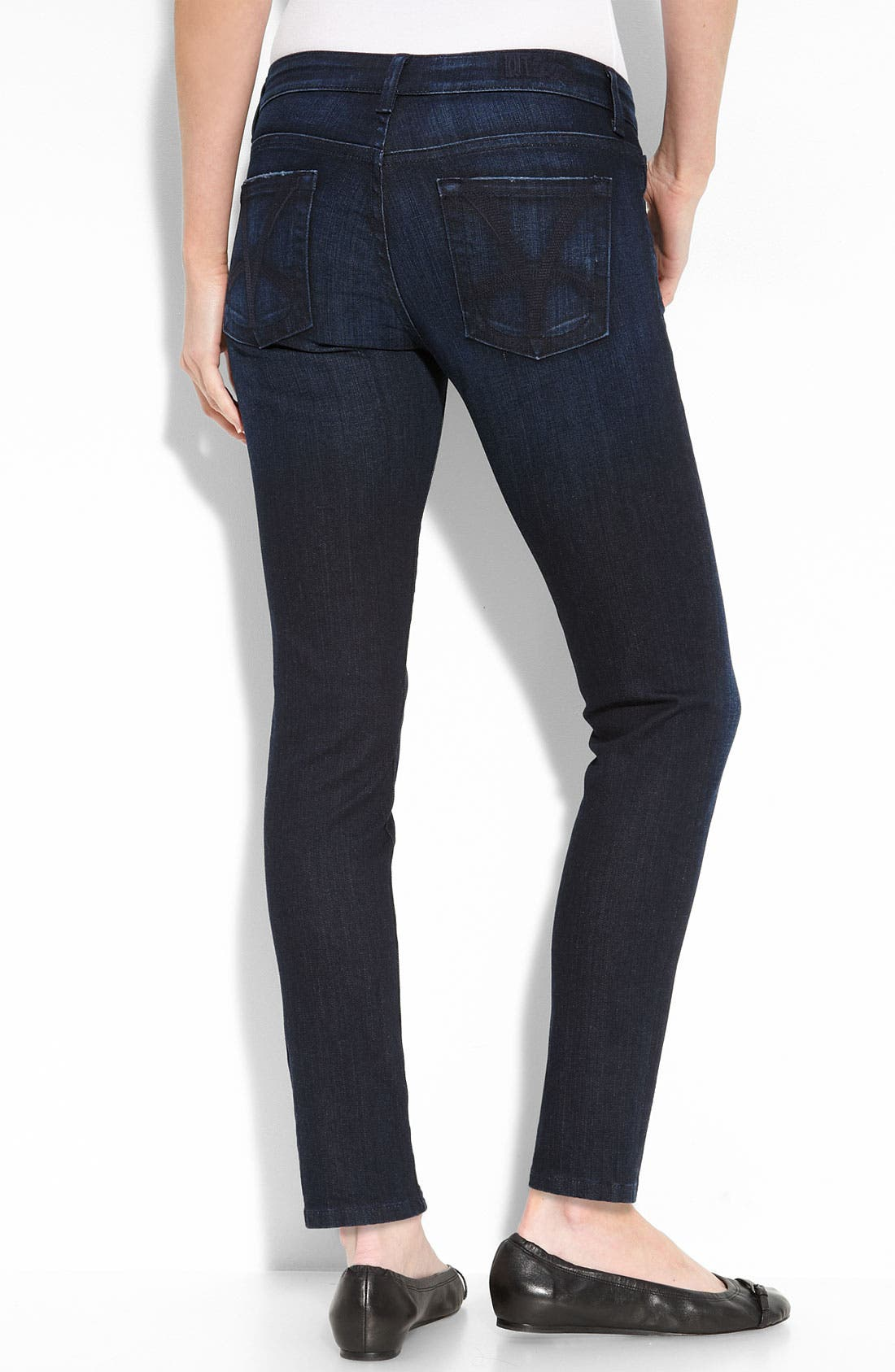 Alternate Image 2  - KUT from the Kloth 'Audrey' Skinny Stretch Ankle Jeans (Petite)