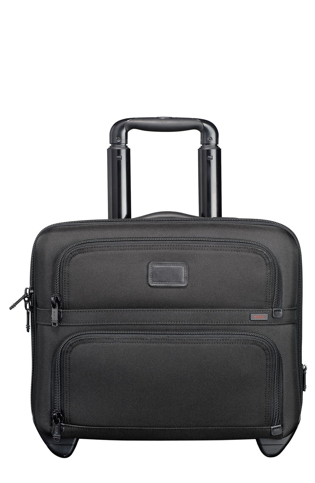 Alternate Image 1 Selected - Tumi 'Alpha' Compact Wheeled Briefcase