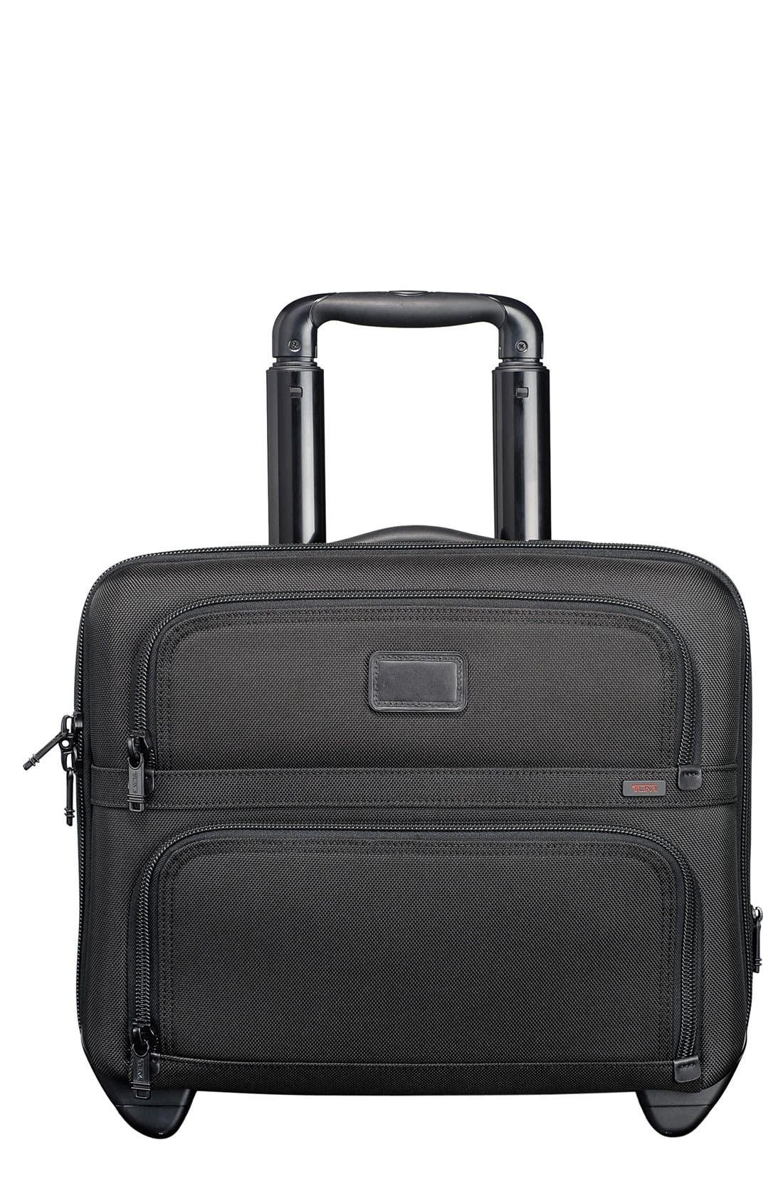 Main Image - Tumi 'Alpha' Compact Wheeled Briefcase