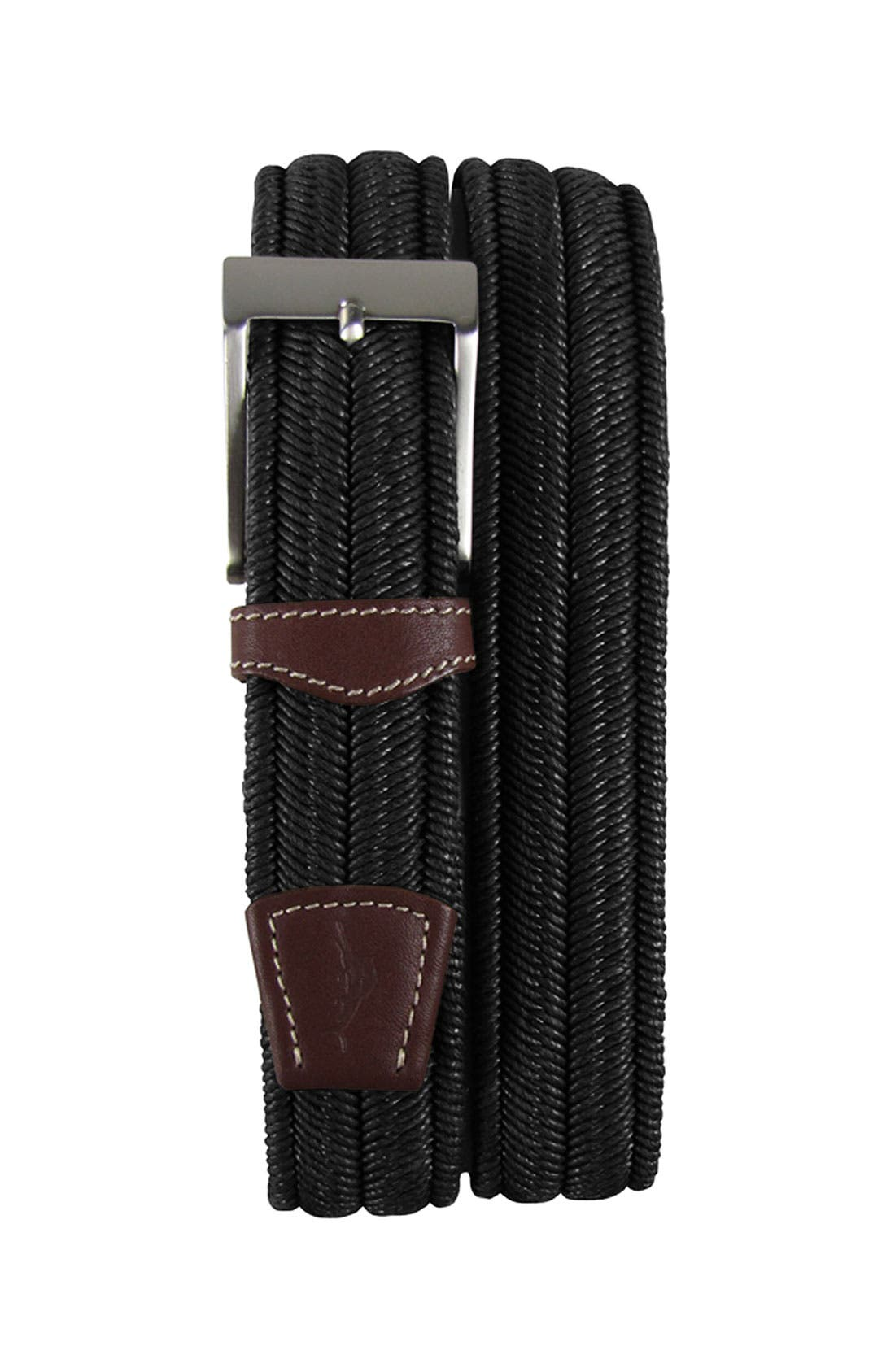 Alternate Image 1 Selected - Tommy Bahama 'Castaway' Woven Cotton Belt