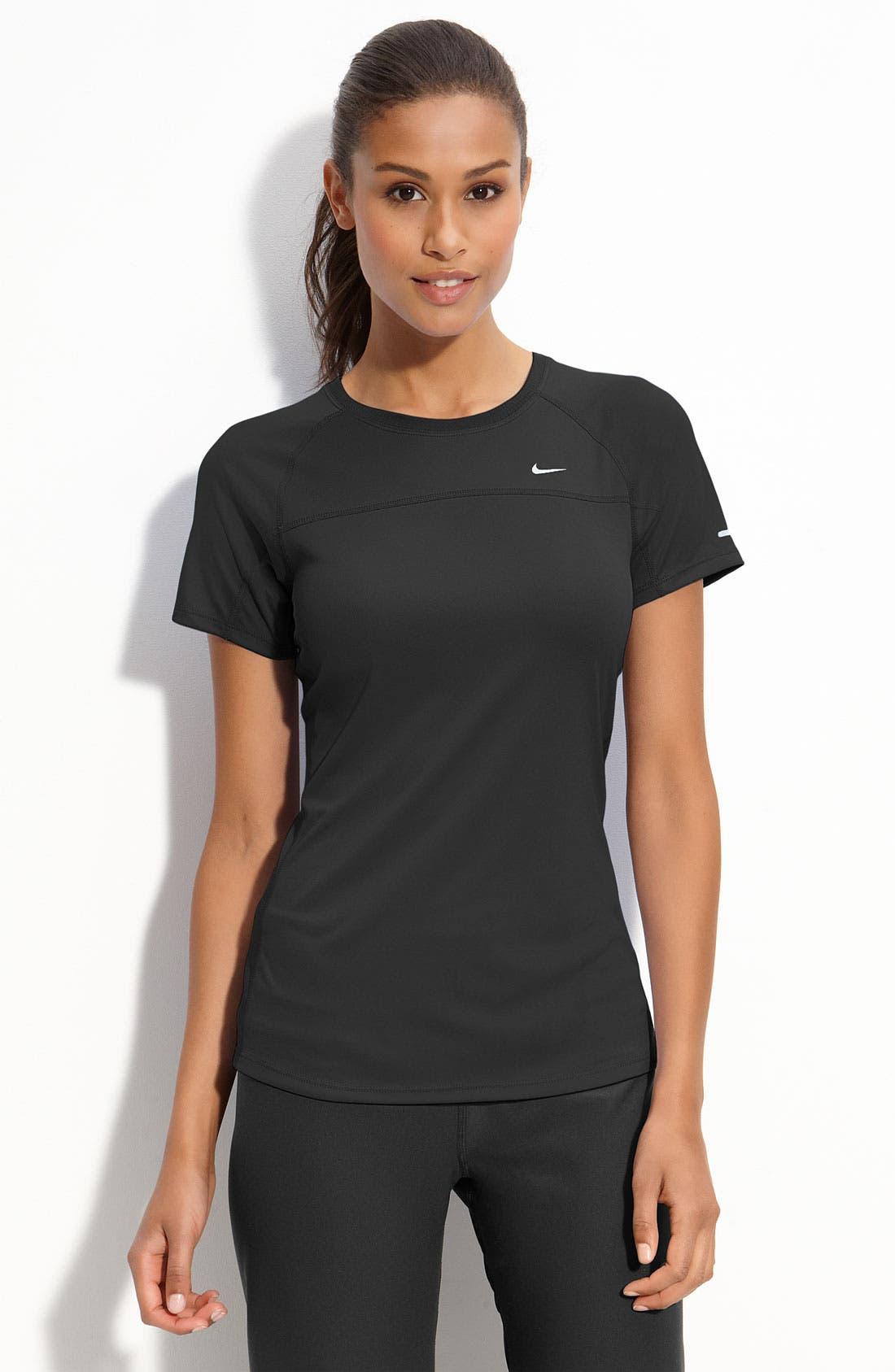 Alternate Image 1 Selected - Nike 'Miler' Tee