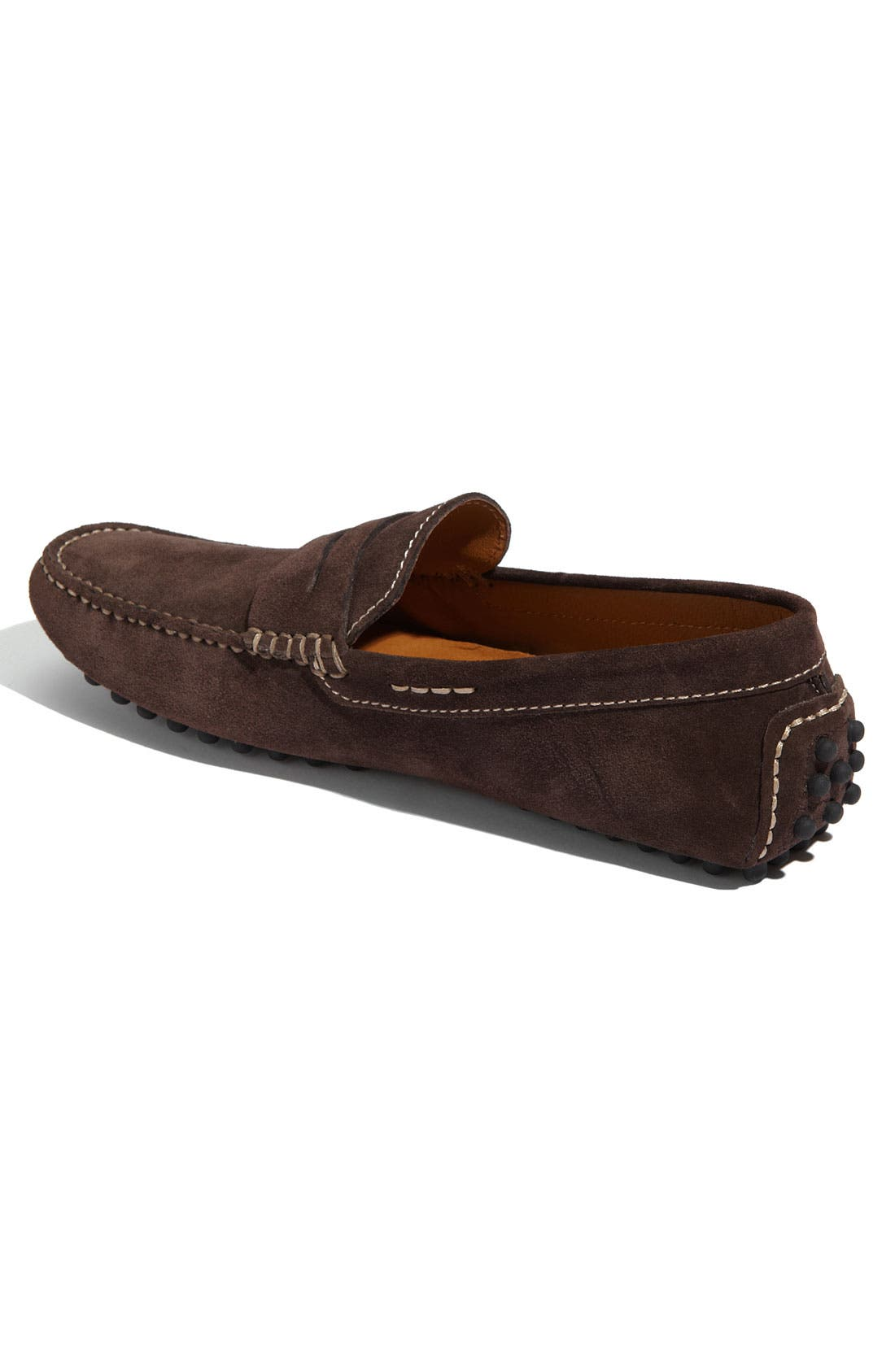 'Tobago' Driving Shoe,                             Alternate thumbnail 2, color,                             Brown