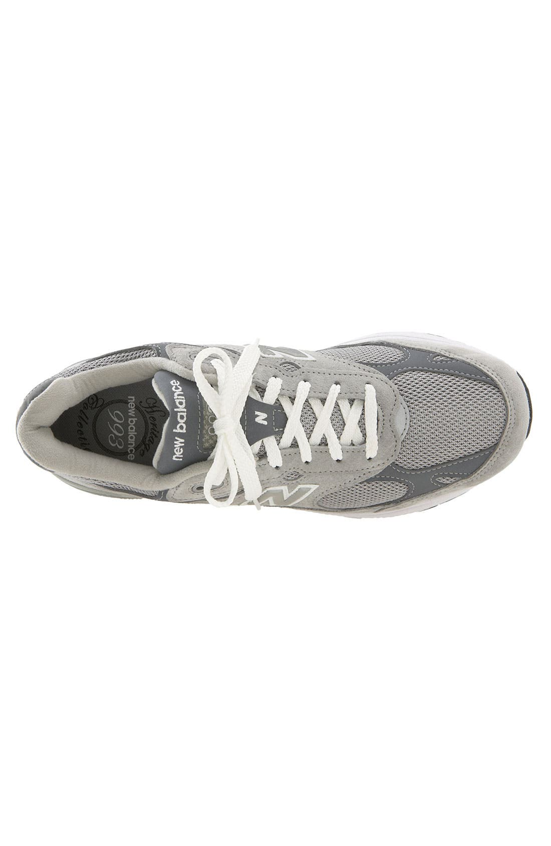 '993' Running Shoe,                             Alternate thumbnail 2, color,                             Grey