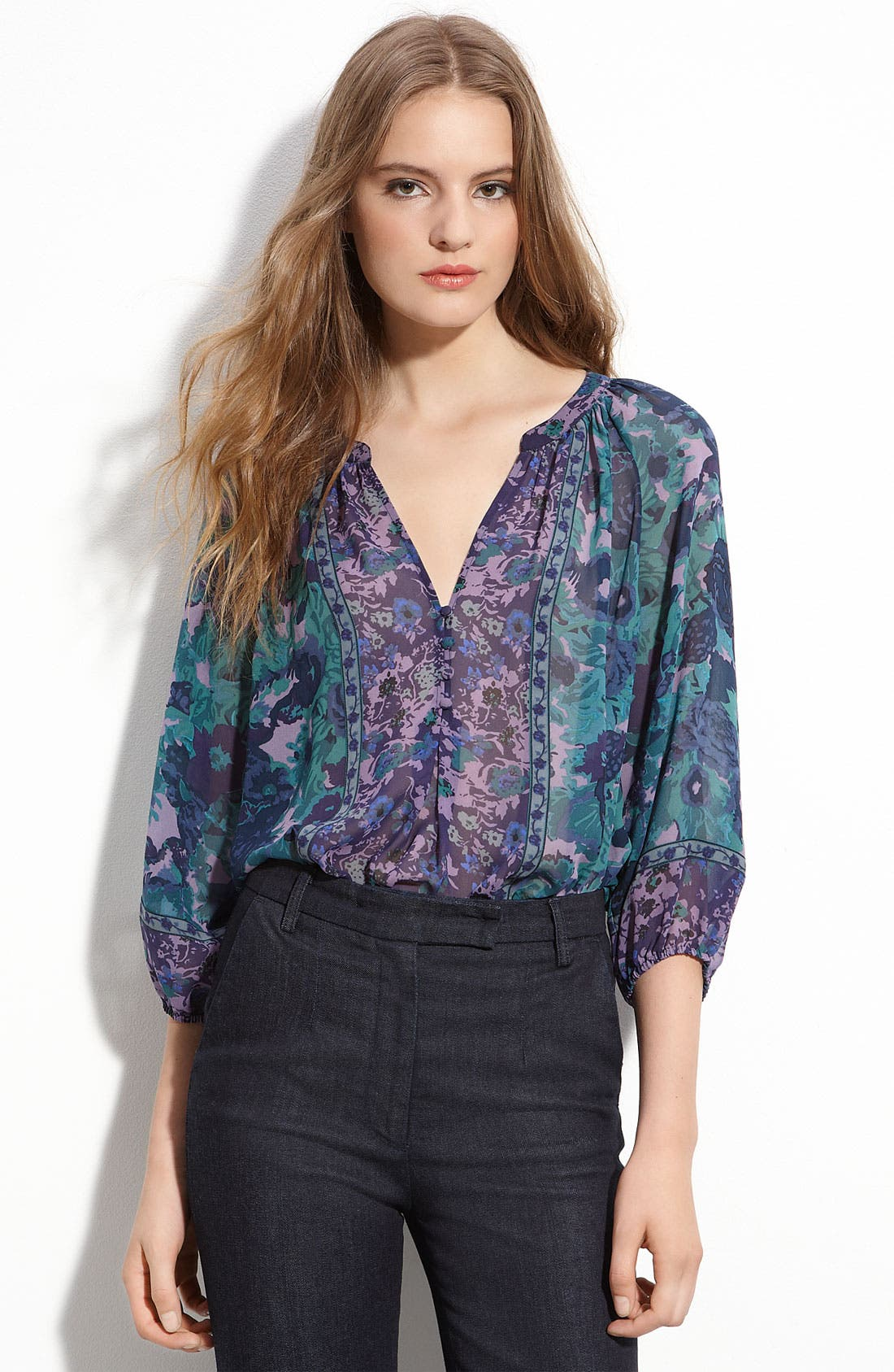 Alternate Image 1 Selected - Joie 'Gloria' Silk Blouse