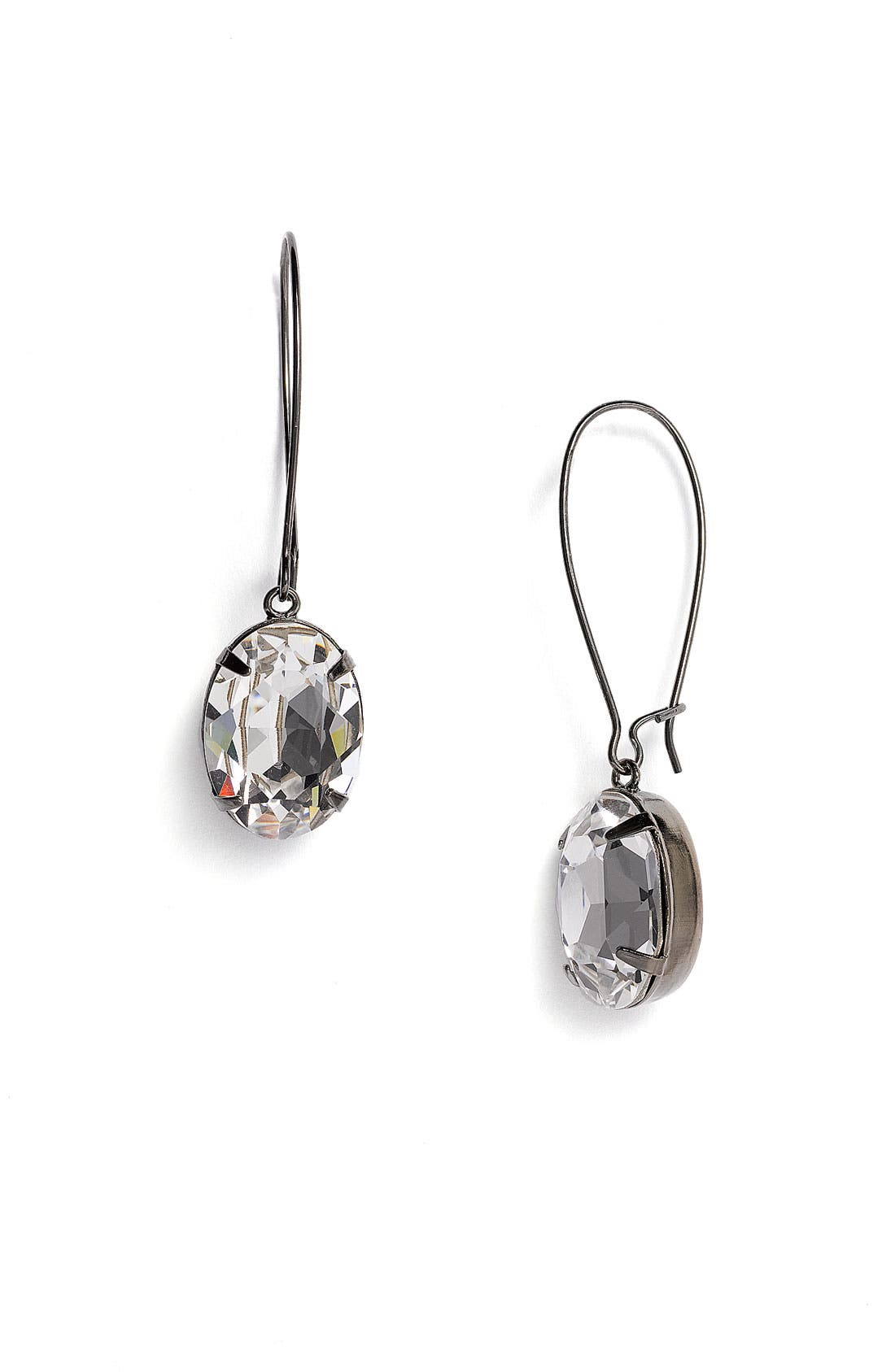 Alternate Image 1 Selected - Nordstrom Crystal Collection Drop Earrings