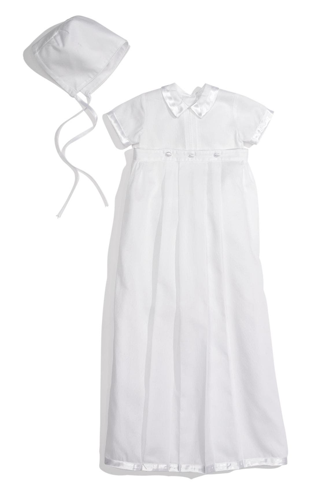 Main Image - Kissy Kissy Convertible Christening Gown Set (Infant)