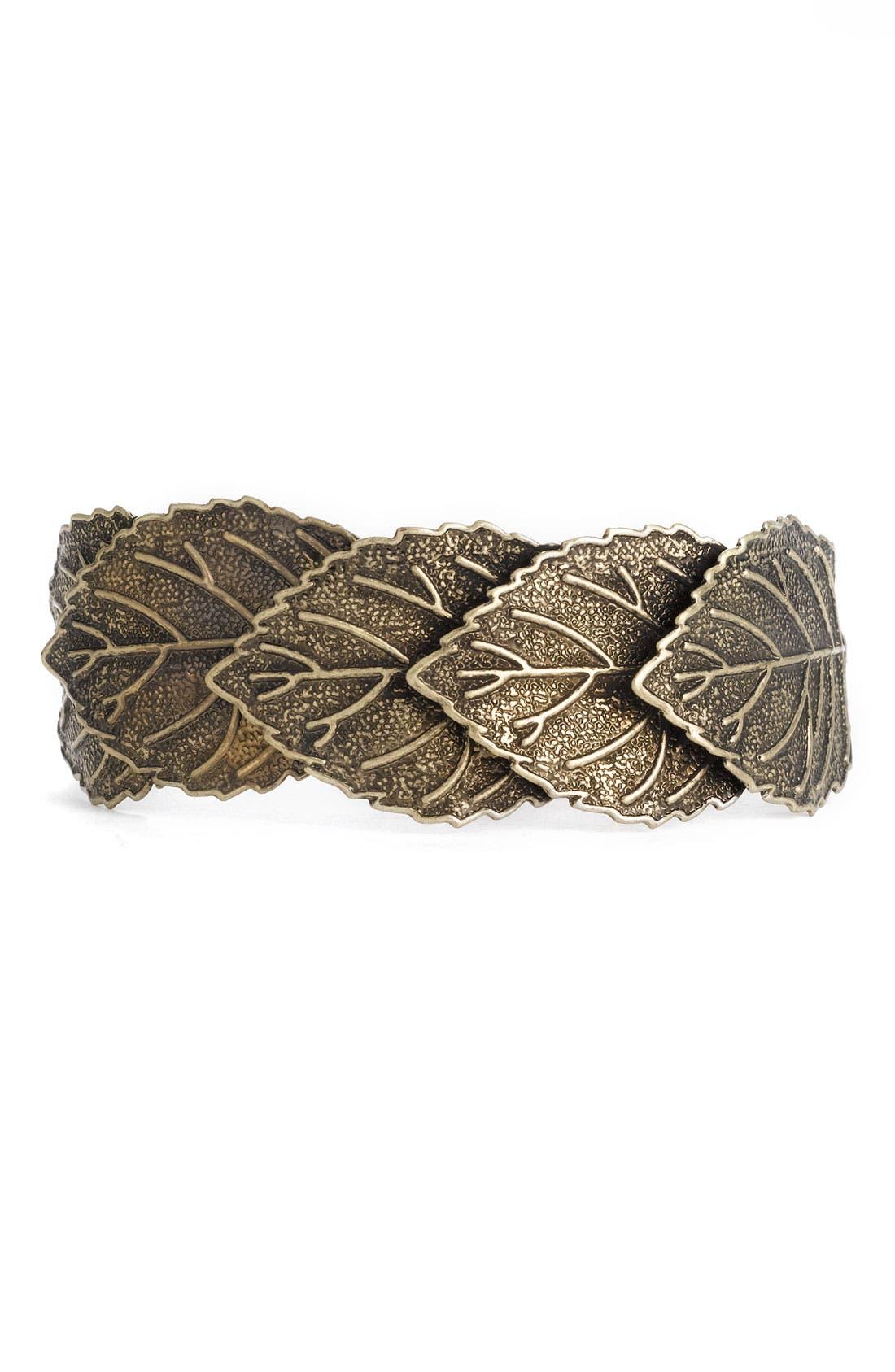 Main Image - Stephan & Co. Leaf Hinged Cuff