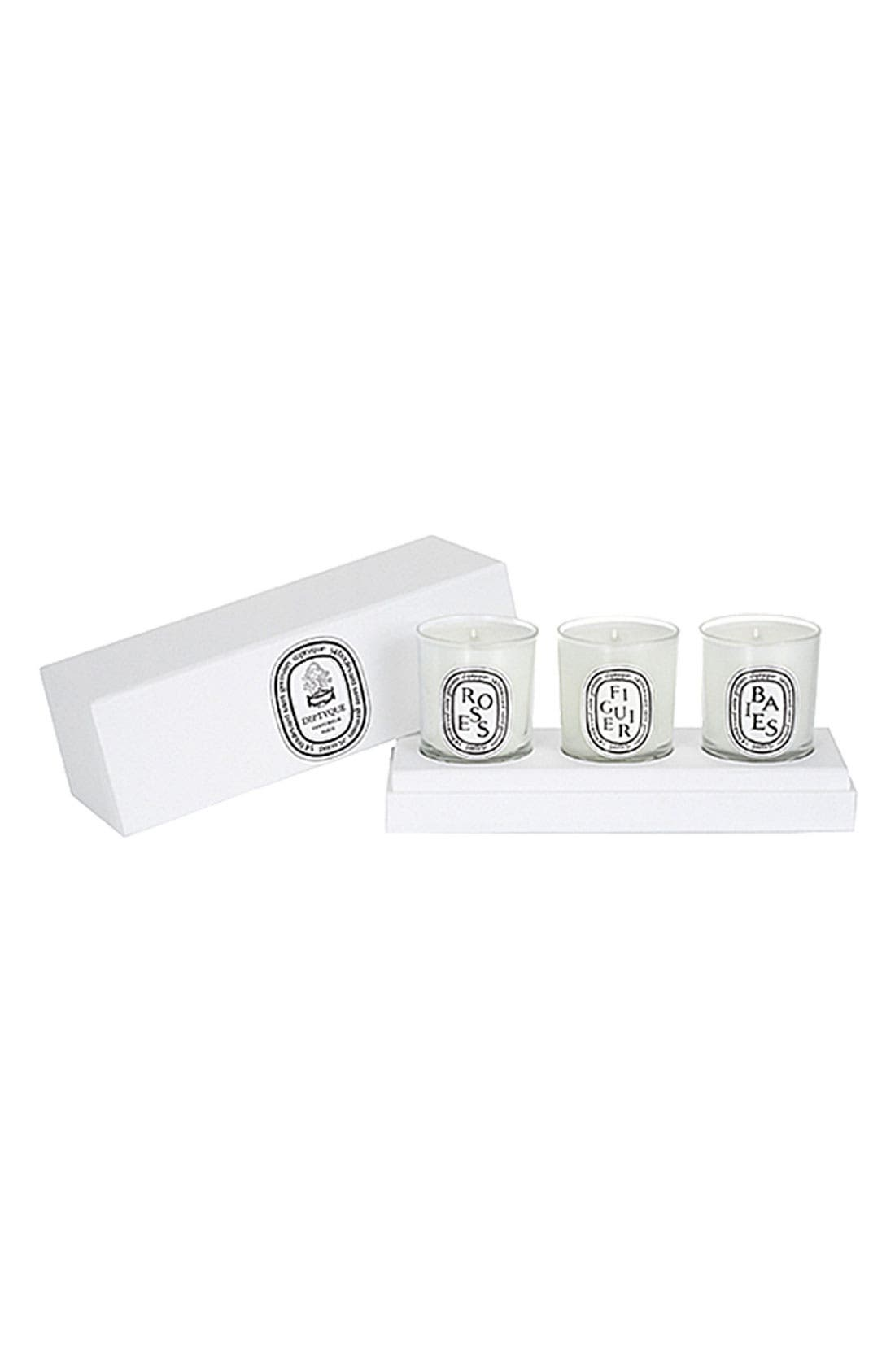 Votive Candle Set,                             Main thumbnail 3, color,