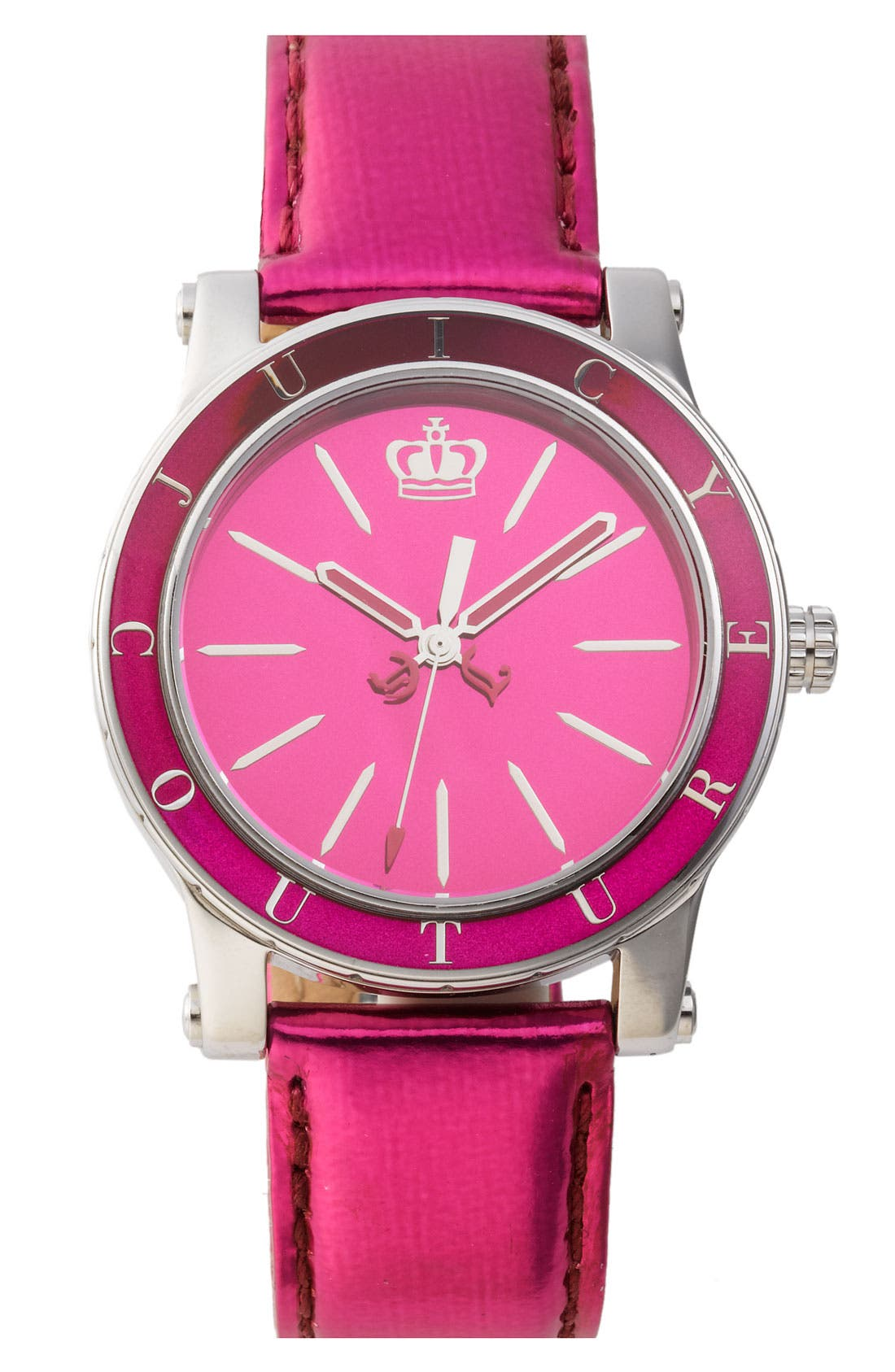 Alternate Image 1 Selected - Juicy Couture 'HRH' Mirror Dial Watch