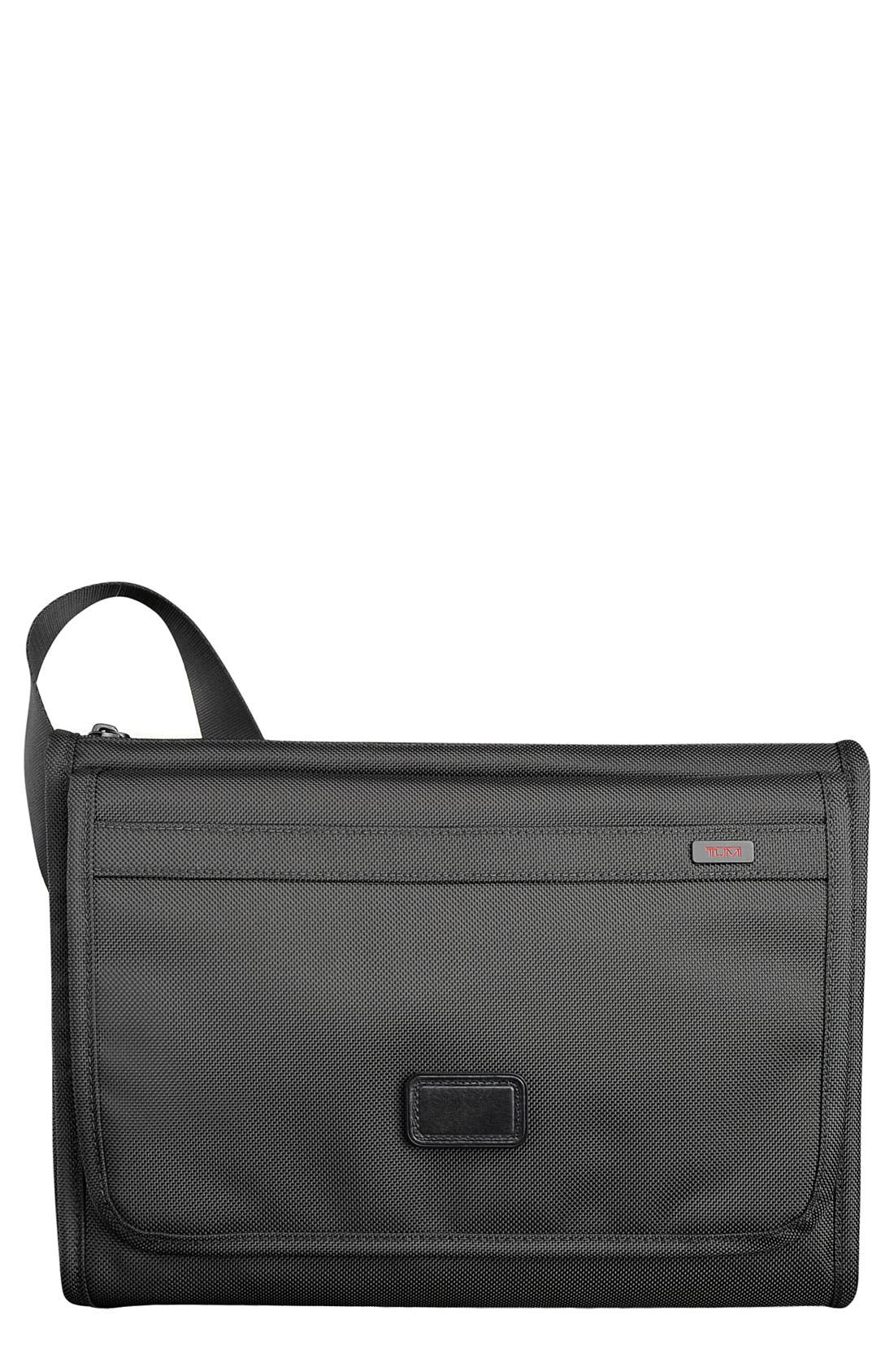 Main Image - Tumi 'Alpha' Flap Zip Crossbody Bag