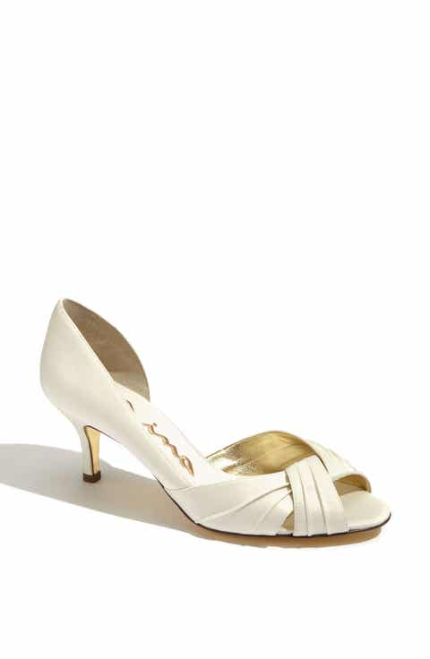 Womens Off White Wedding Shoes