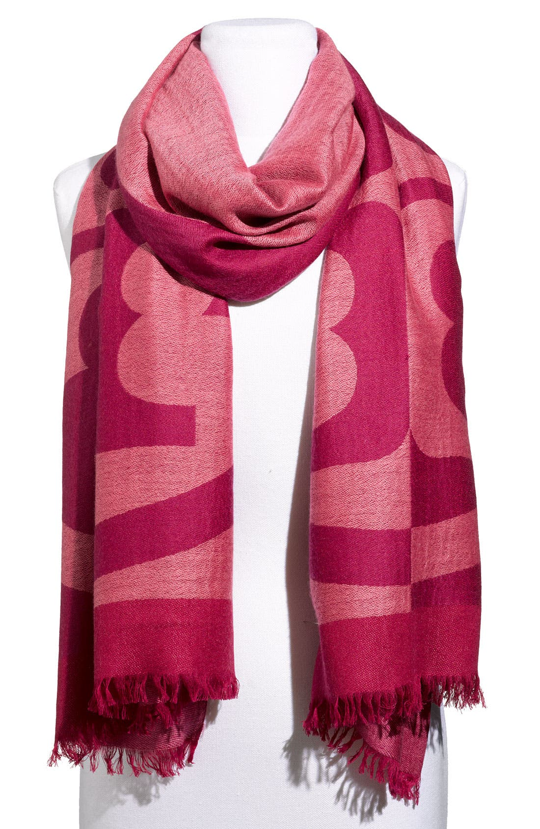 Alternate Image 1 Selected - Tory Burch 'Reva' Wool Scarf