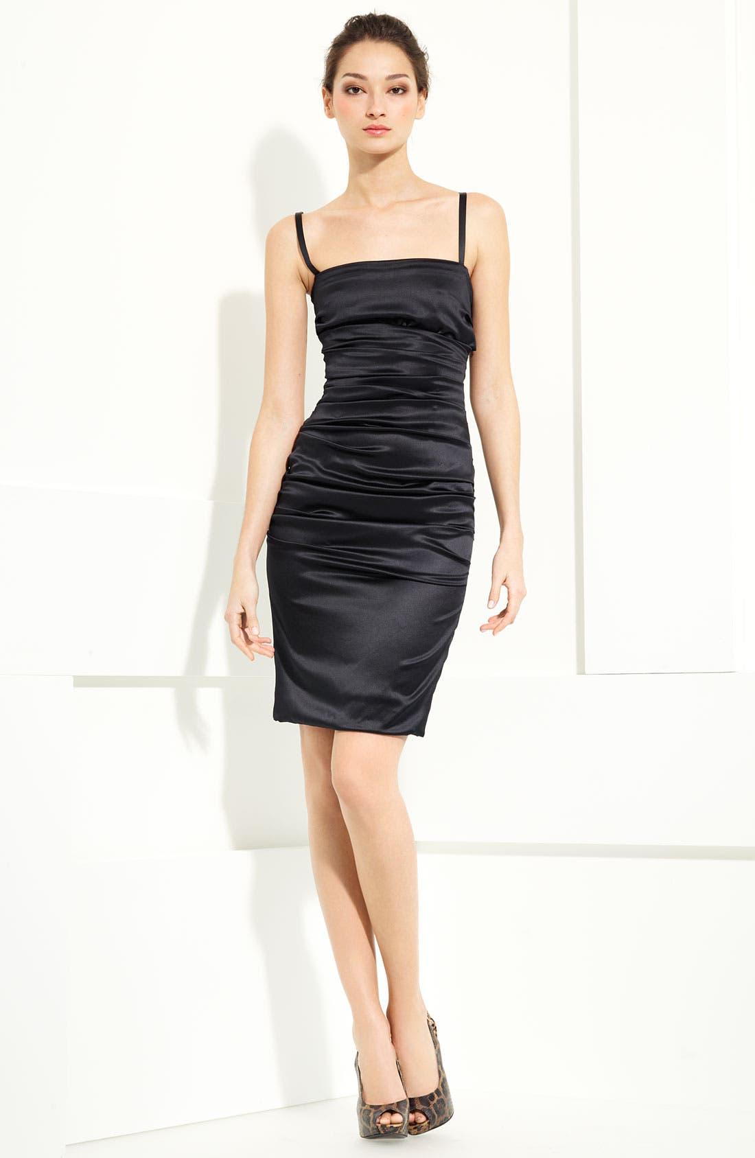 Alternate Image 1 Selected - Dolce&Gabbana Stretch Satin Dress