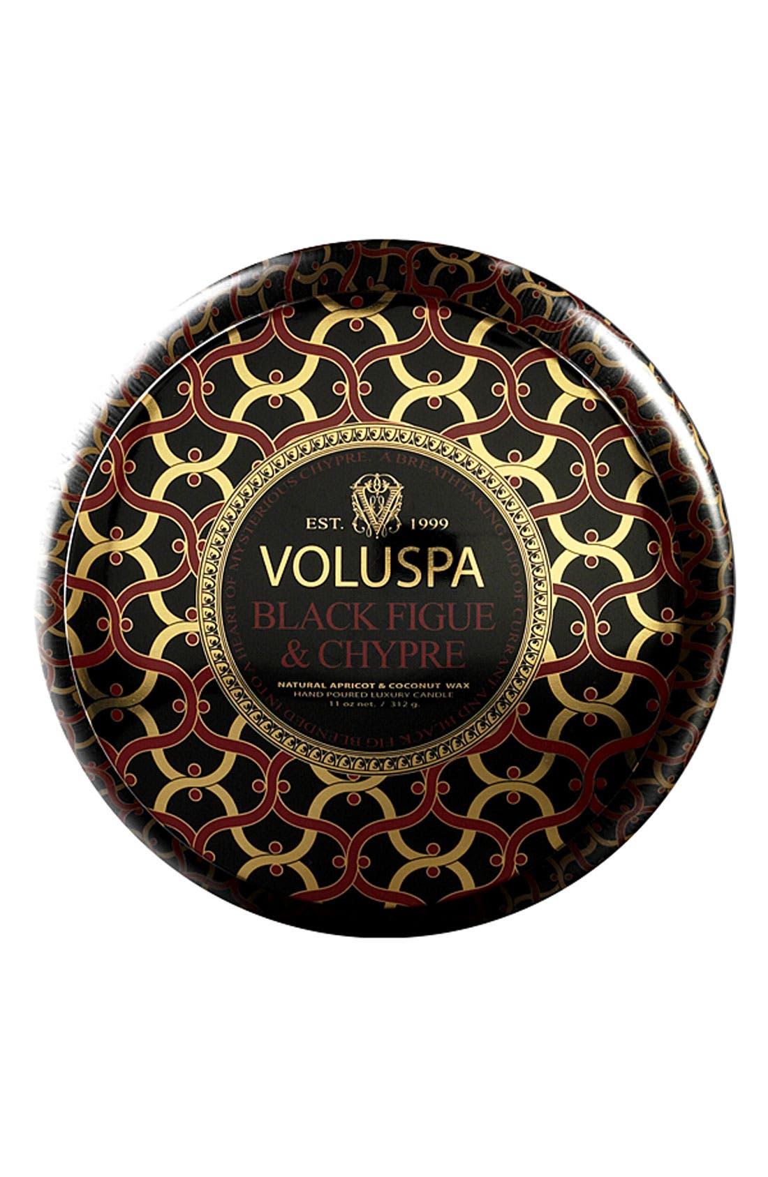 Main Image - Voluspa 'Maison Noir - Black Figue & Chypre' Scented Candle